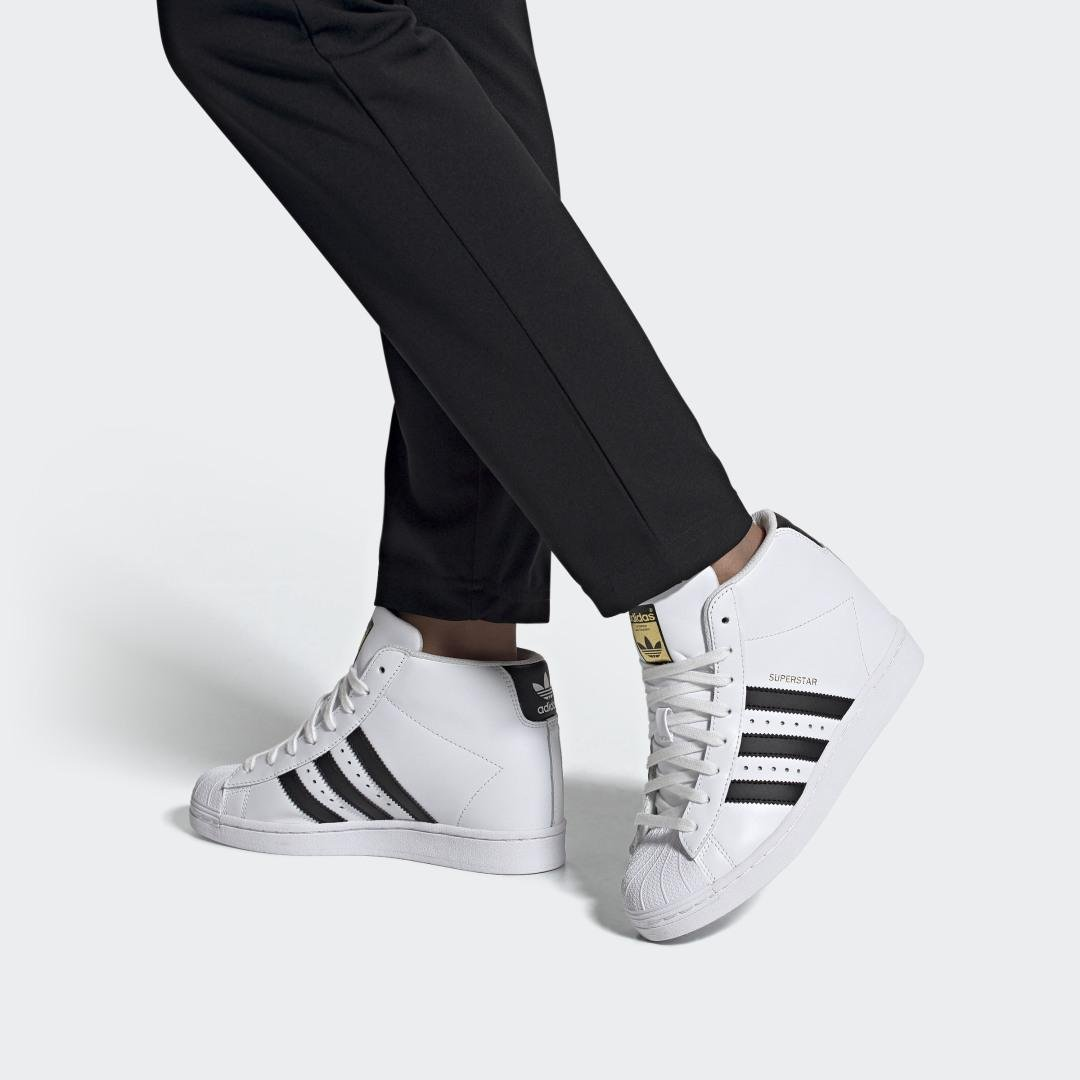 Superstar Up Shoes White 9