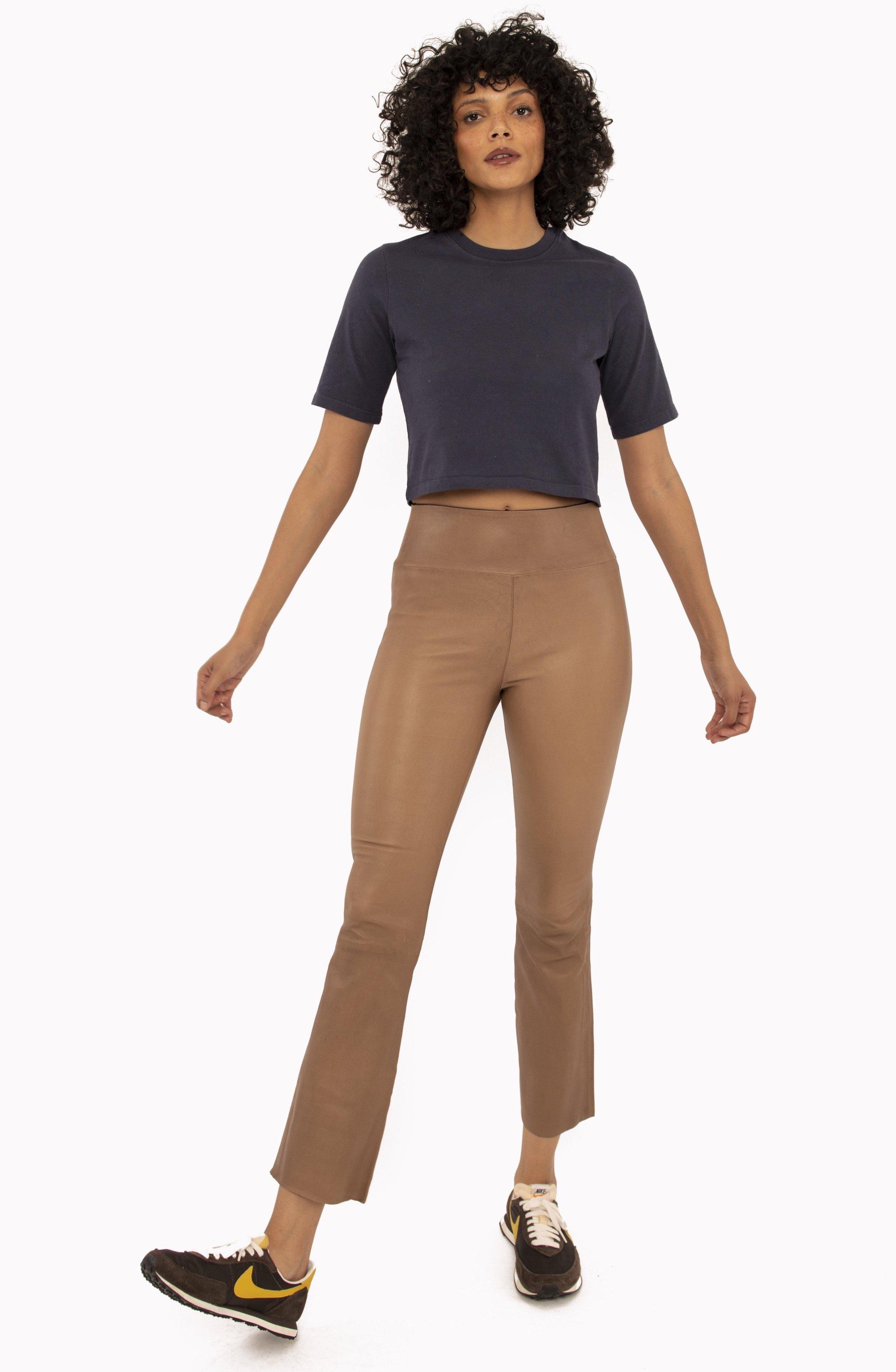 Rosewood Ankle Flare Legging