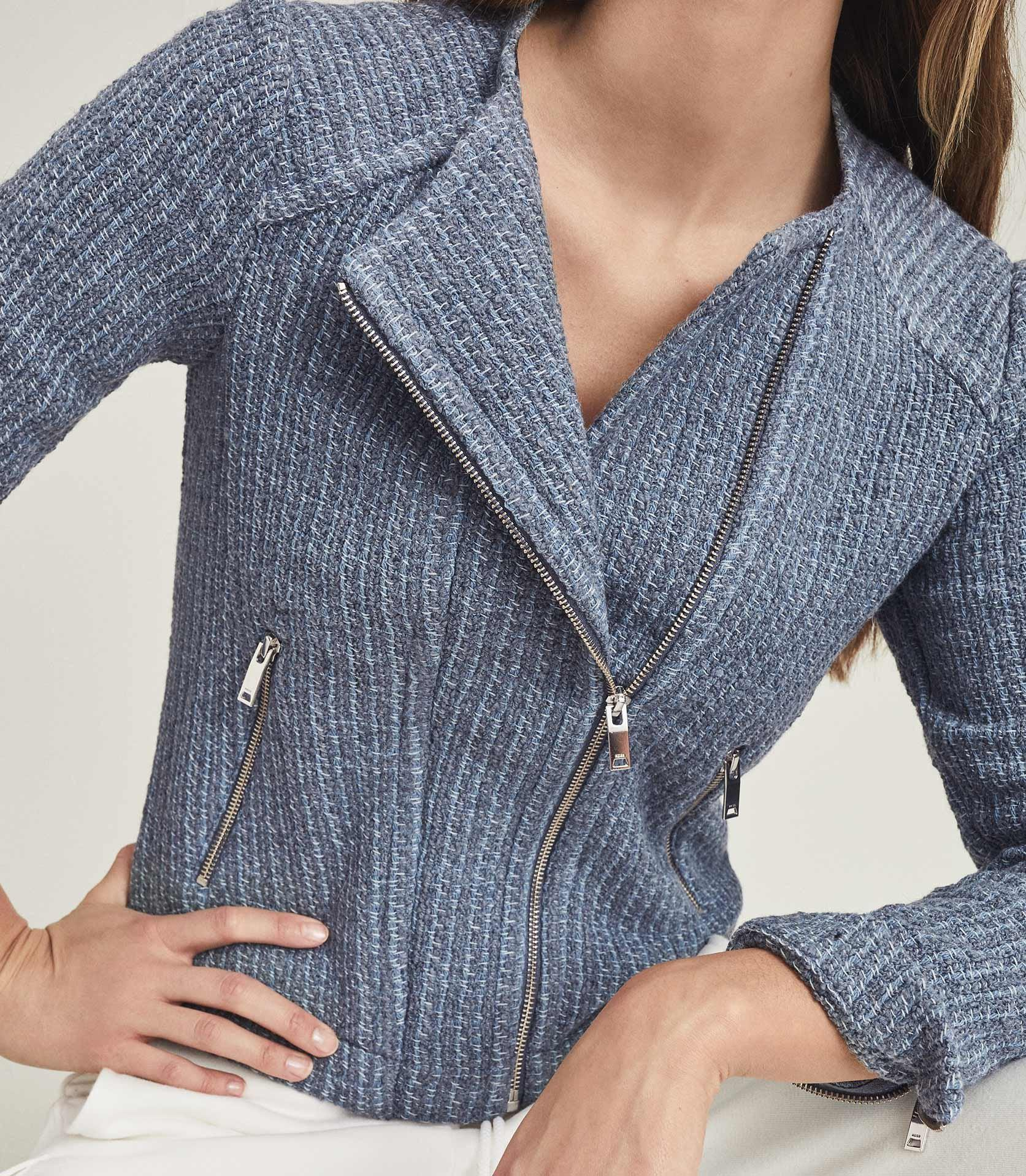 ESSIE - CROPPED BOUCLE JACKET 4
