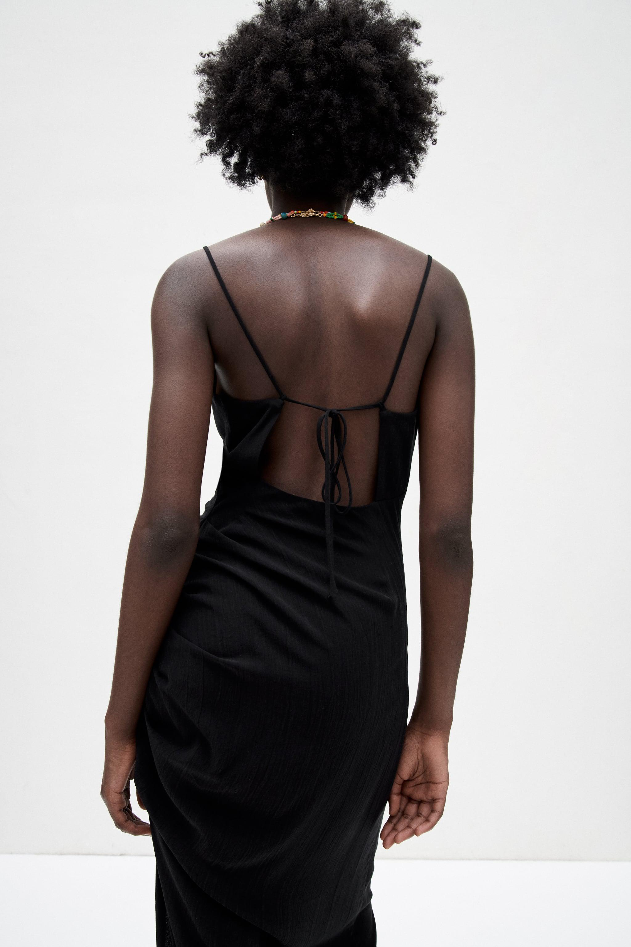 MIDI DRESS WITH OPEN BACK 4