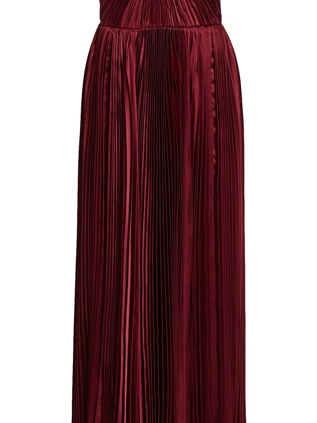 PLEATED TIERED GOWN 5