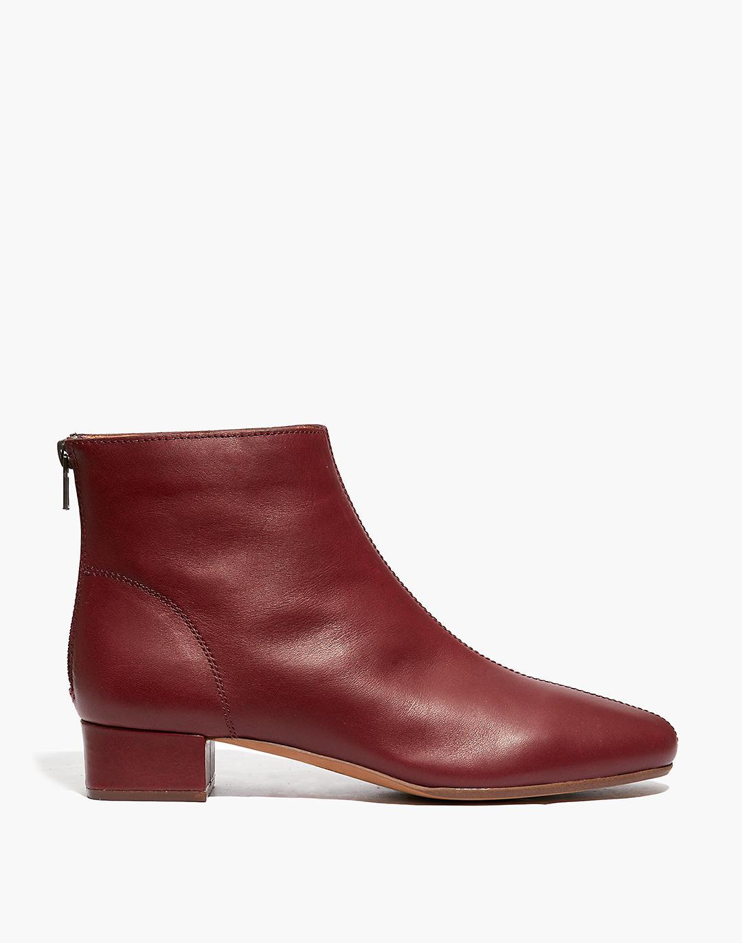 The Rena Ankle Boot in Leather 1
