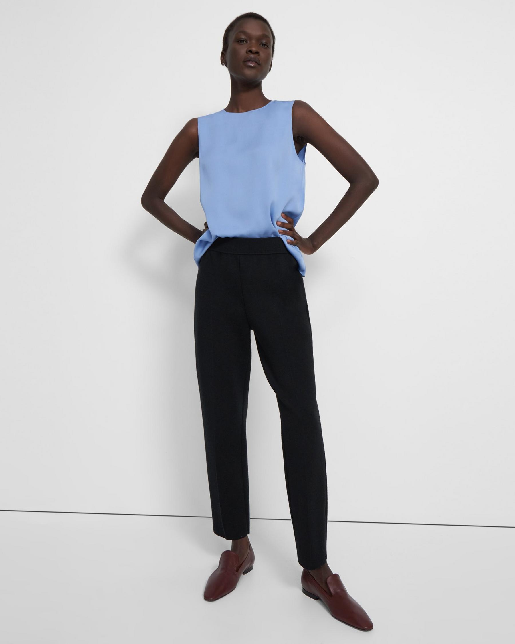 Treeca Pull-On Pant in Empire Wool