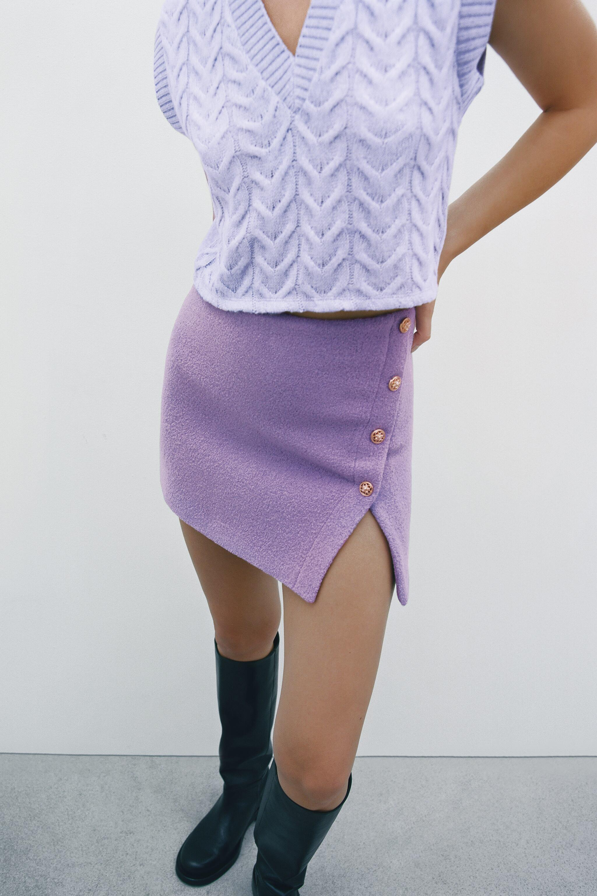 LIMITED EDITION BUTTONED SKIRT 1