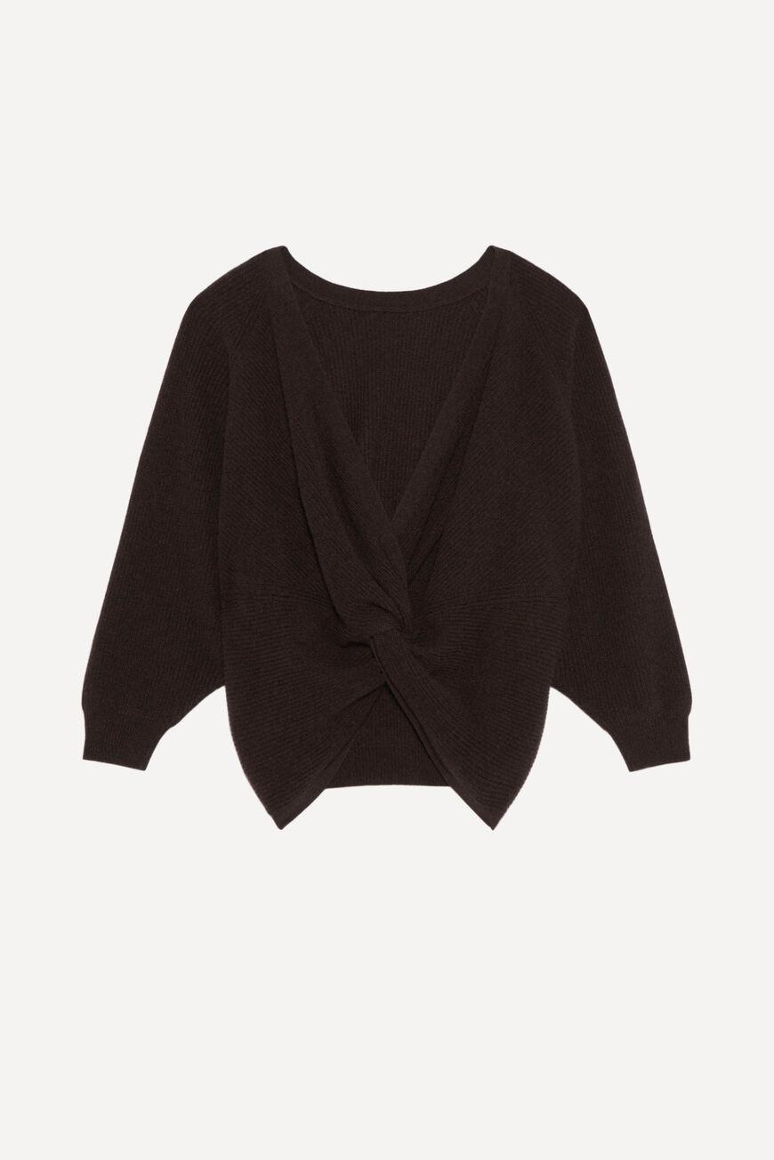cramy.BACKLESS CASHMERE SWEATER 4