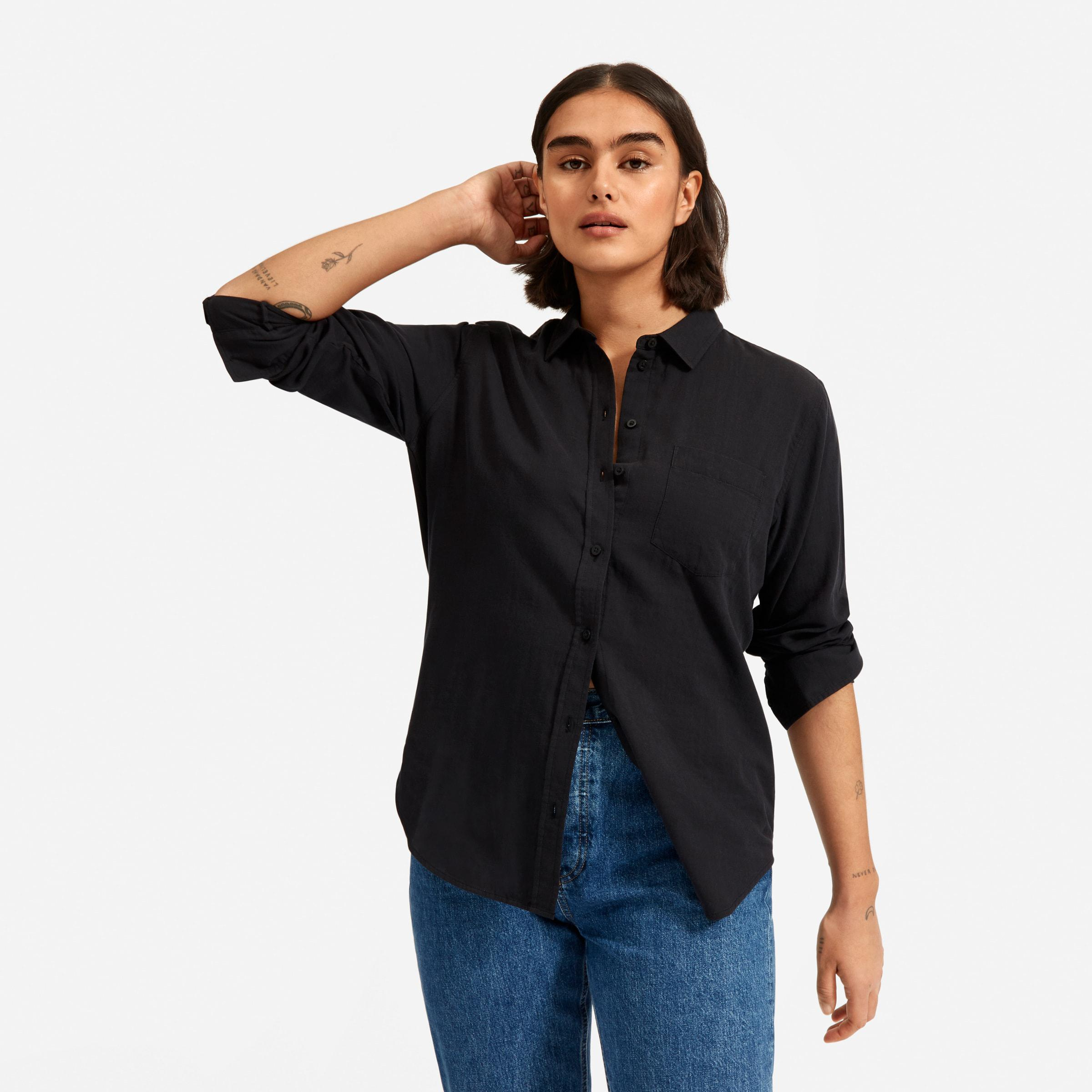 The Double-Gauze Relaxed Shirt