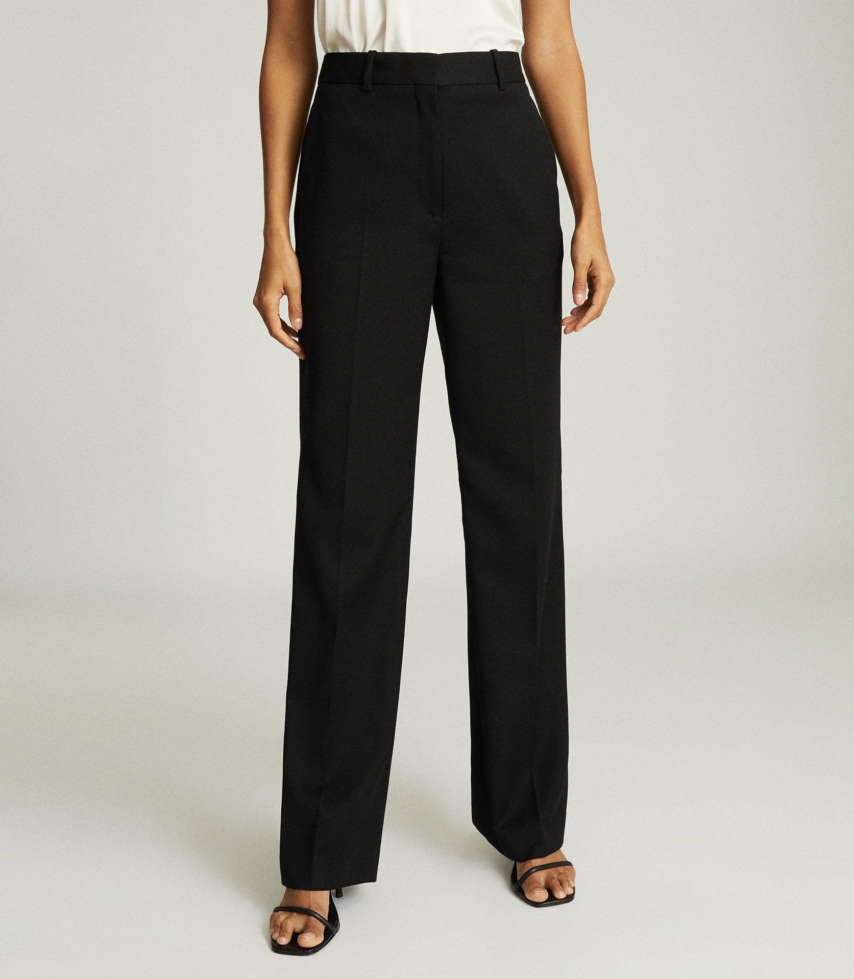 HAYES - WIDE LEG TAILORED PANTS 2