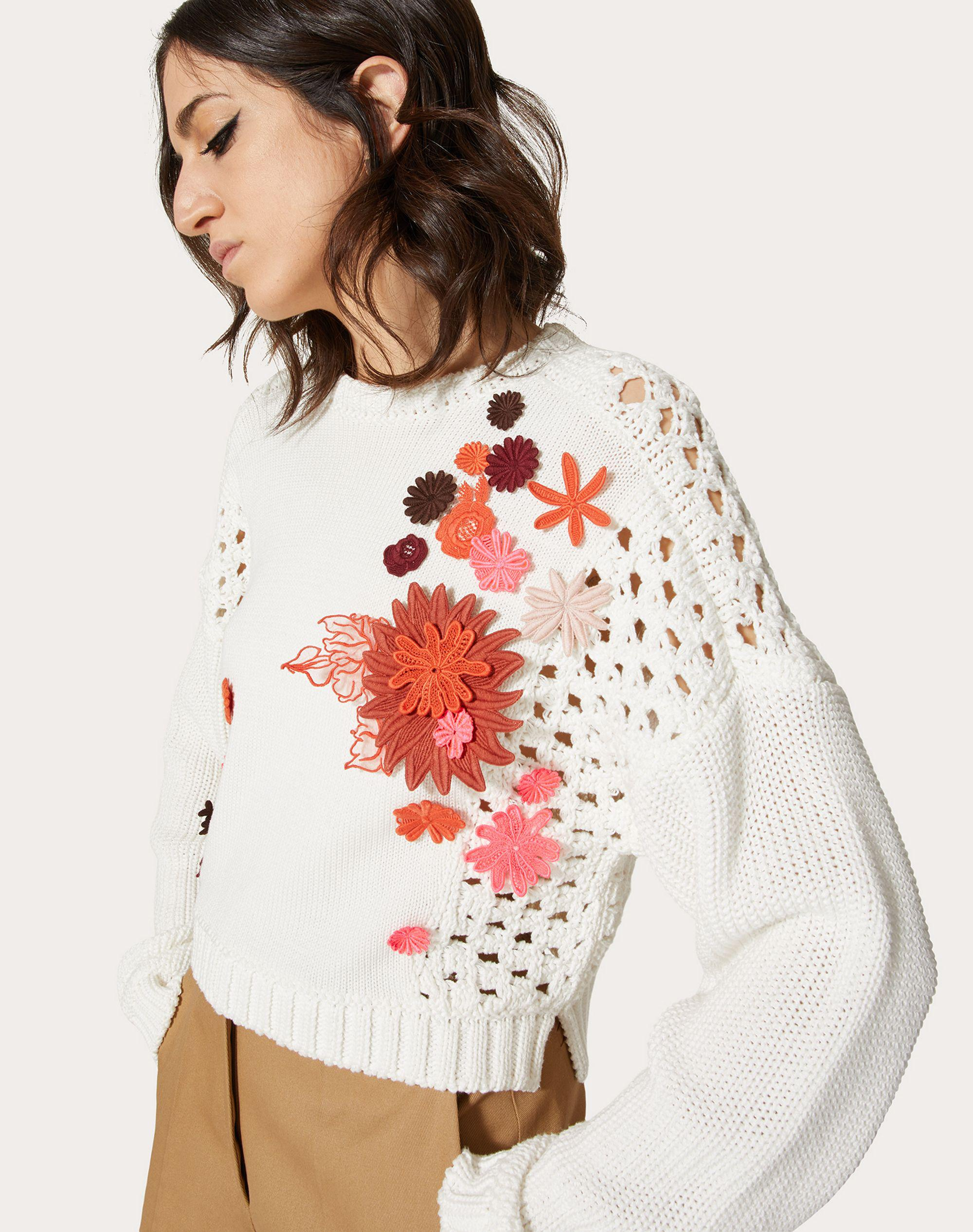 EMBROIDERED COTTON SWEATER 3