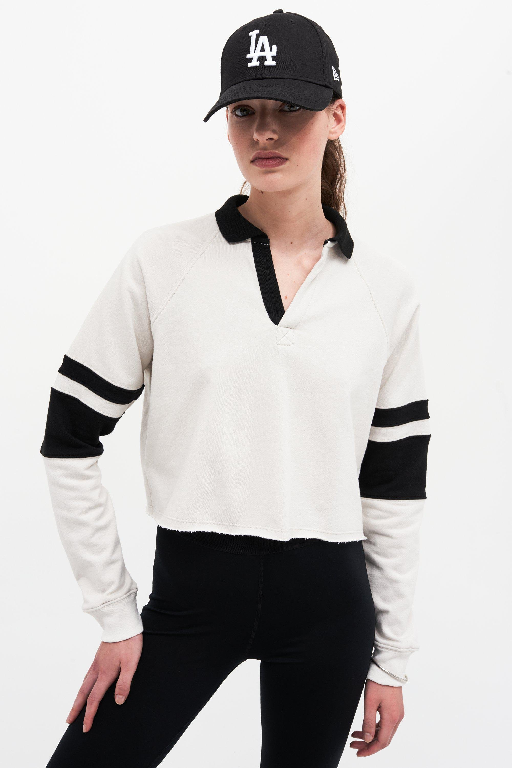 Tiger French Terry Rugby - Vintage White