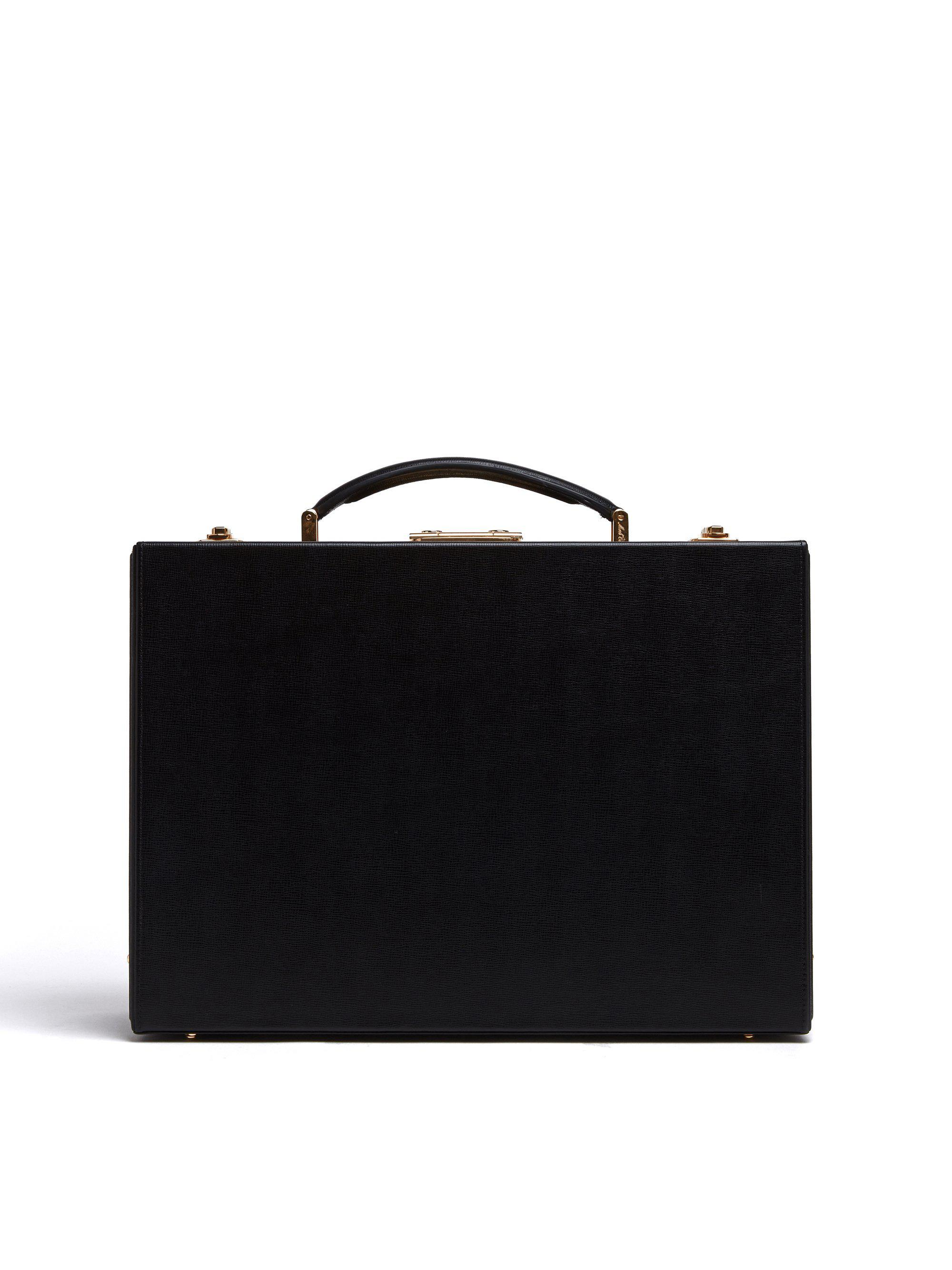 Grace Small Leather Trunk 0