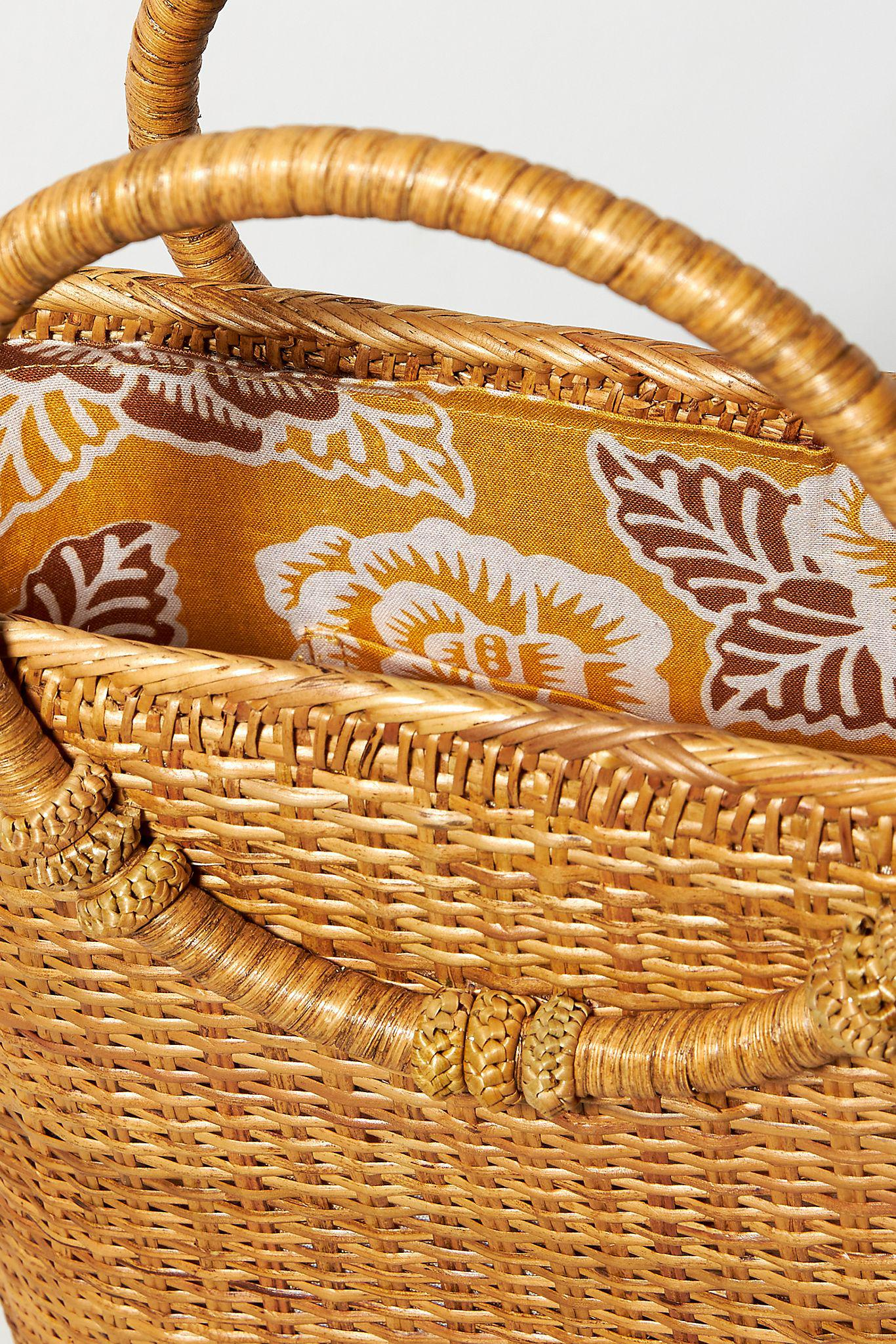 Bamboo Ring Handle Clutch 2