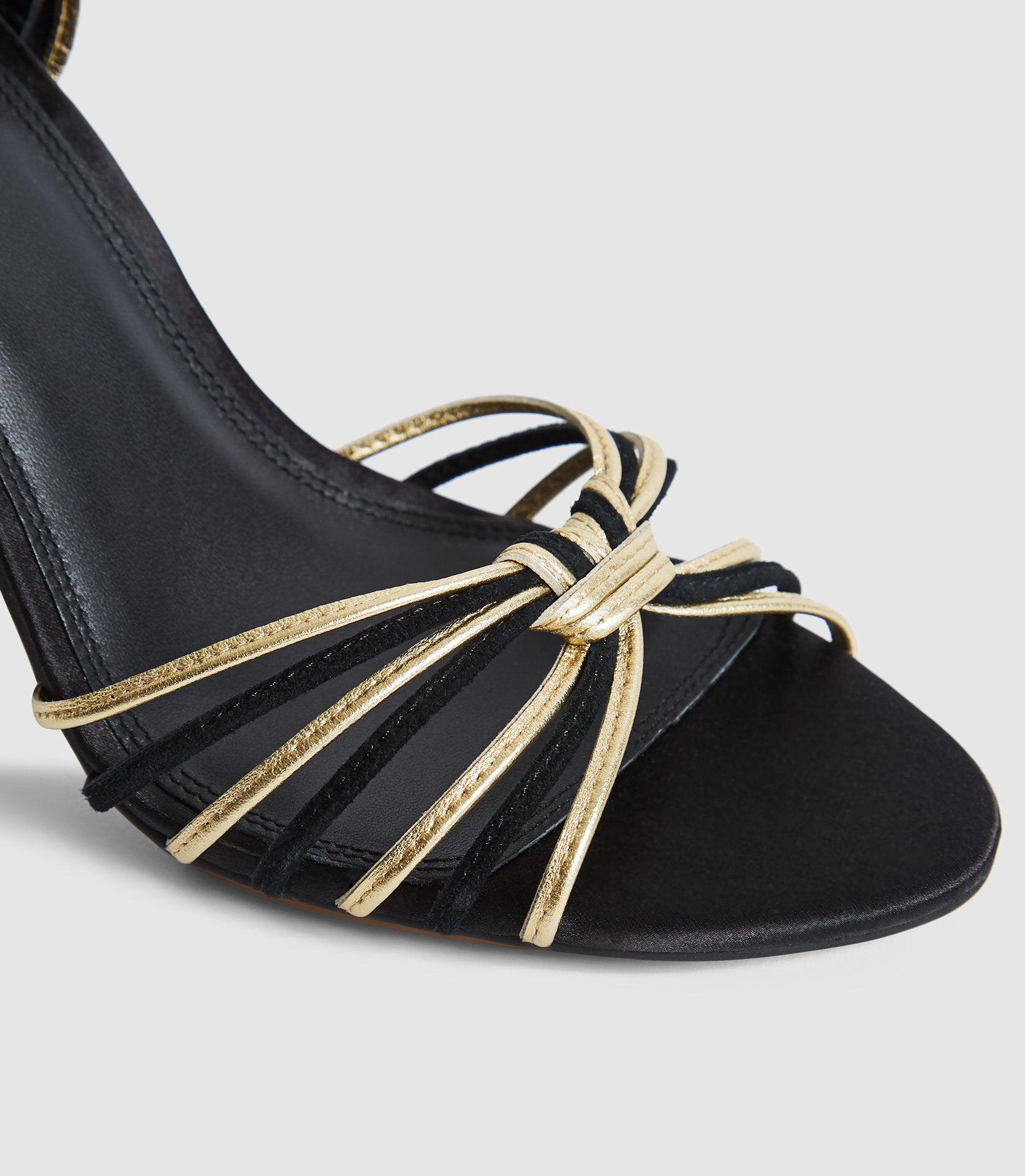 CASSIDY - STRAPPY HIGH HEELED SANDALS 4