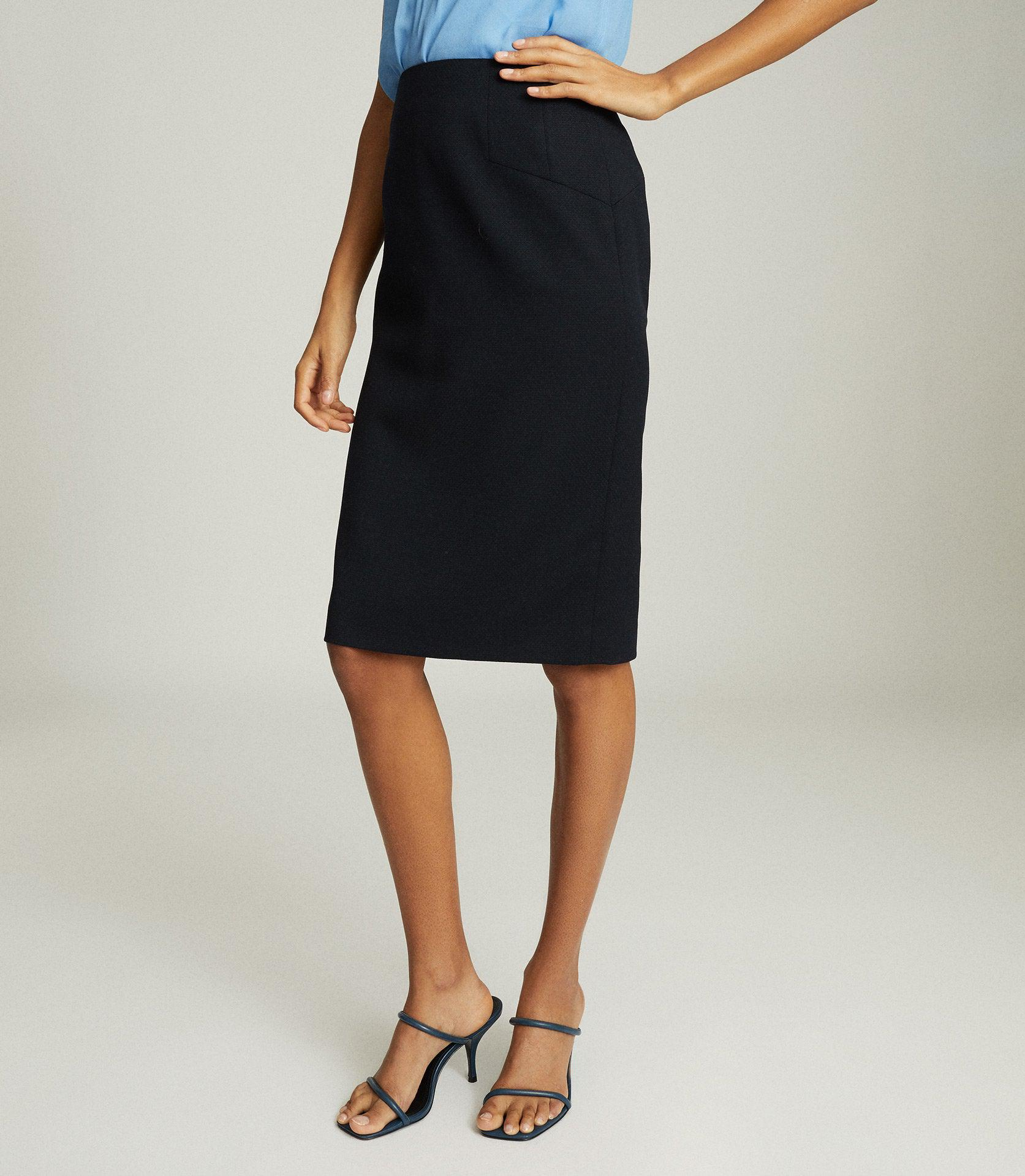 HAYES - TAILORED PENCIL SKIRT 1