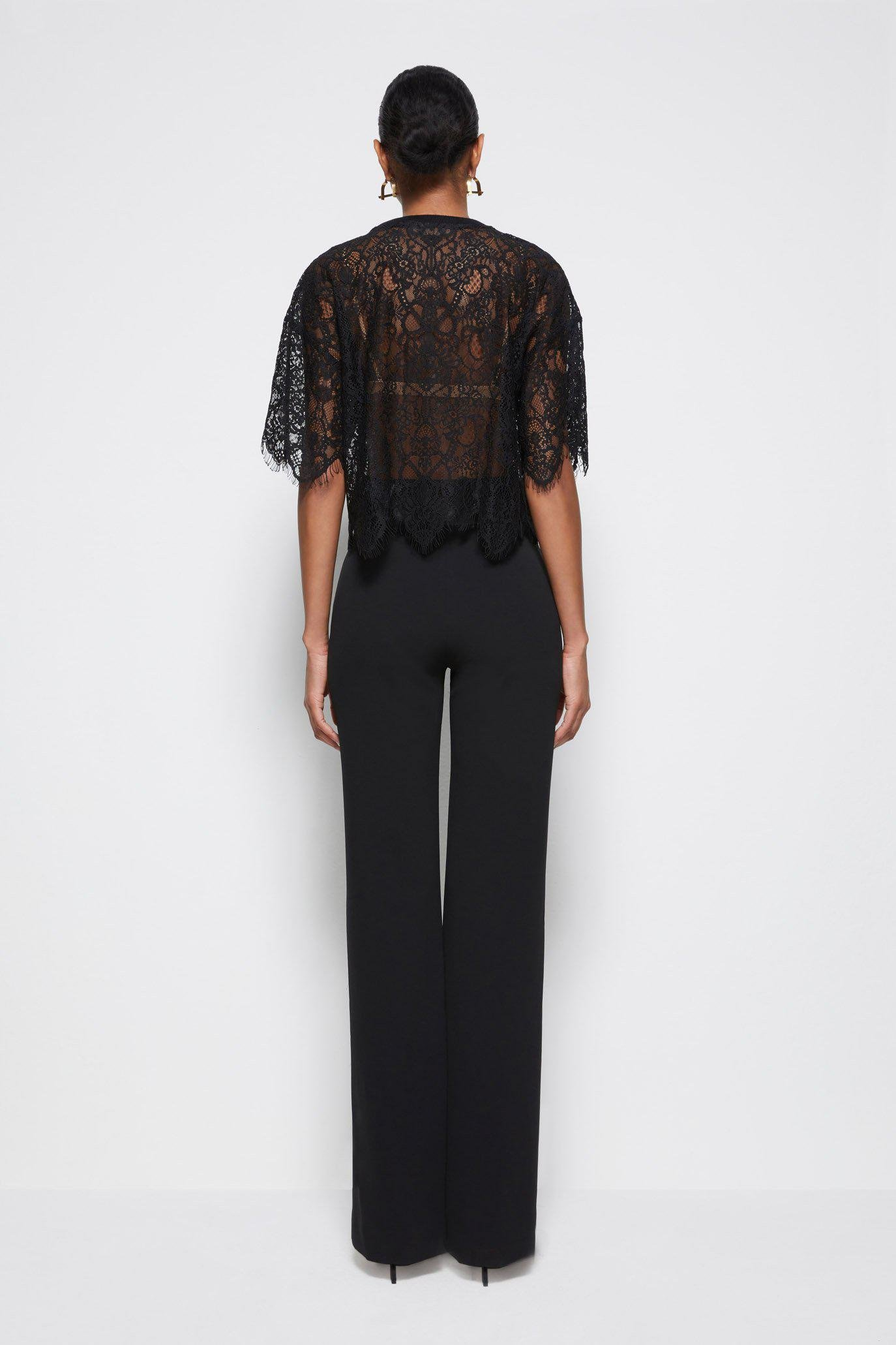 Signature Corded Lace Top 4