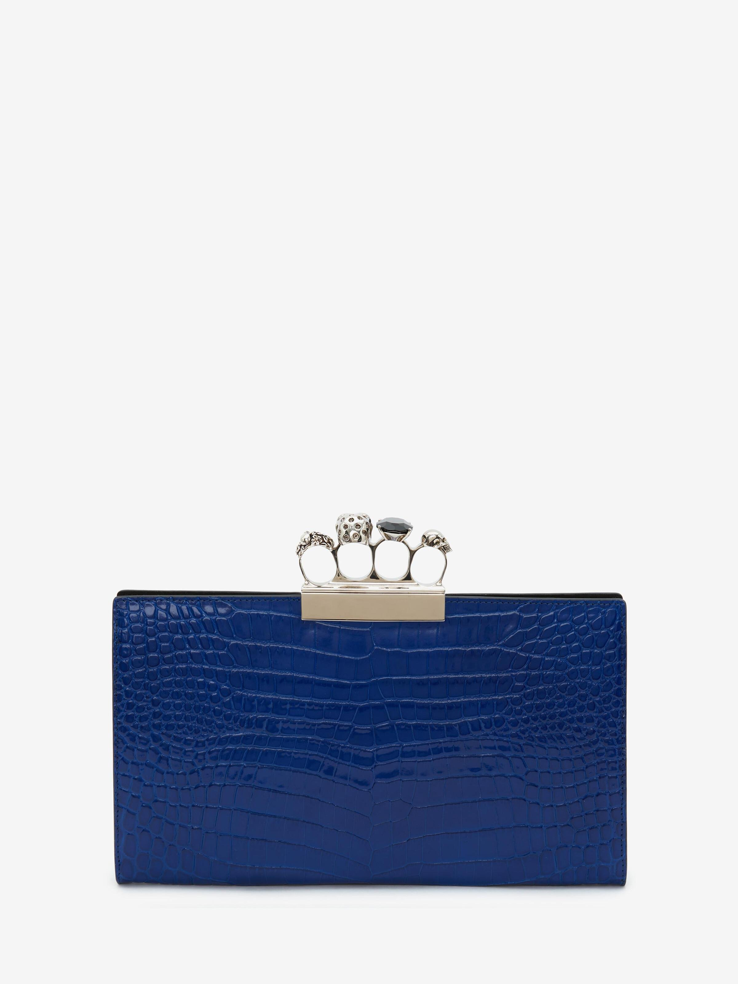 Skull Four-Ring Flat Pouch 2