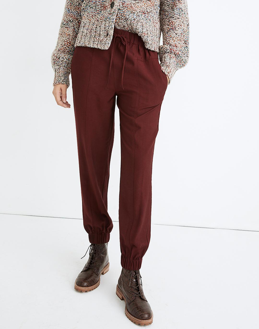 Drapey Seamed Track Trousers 3