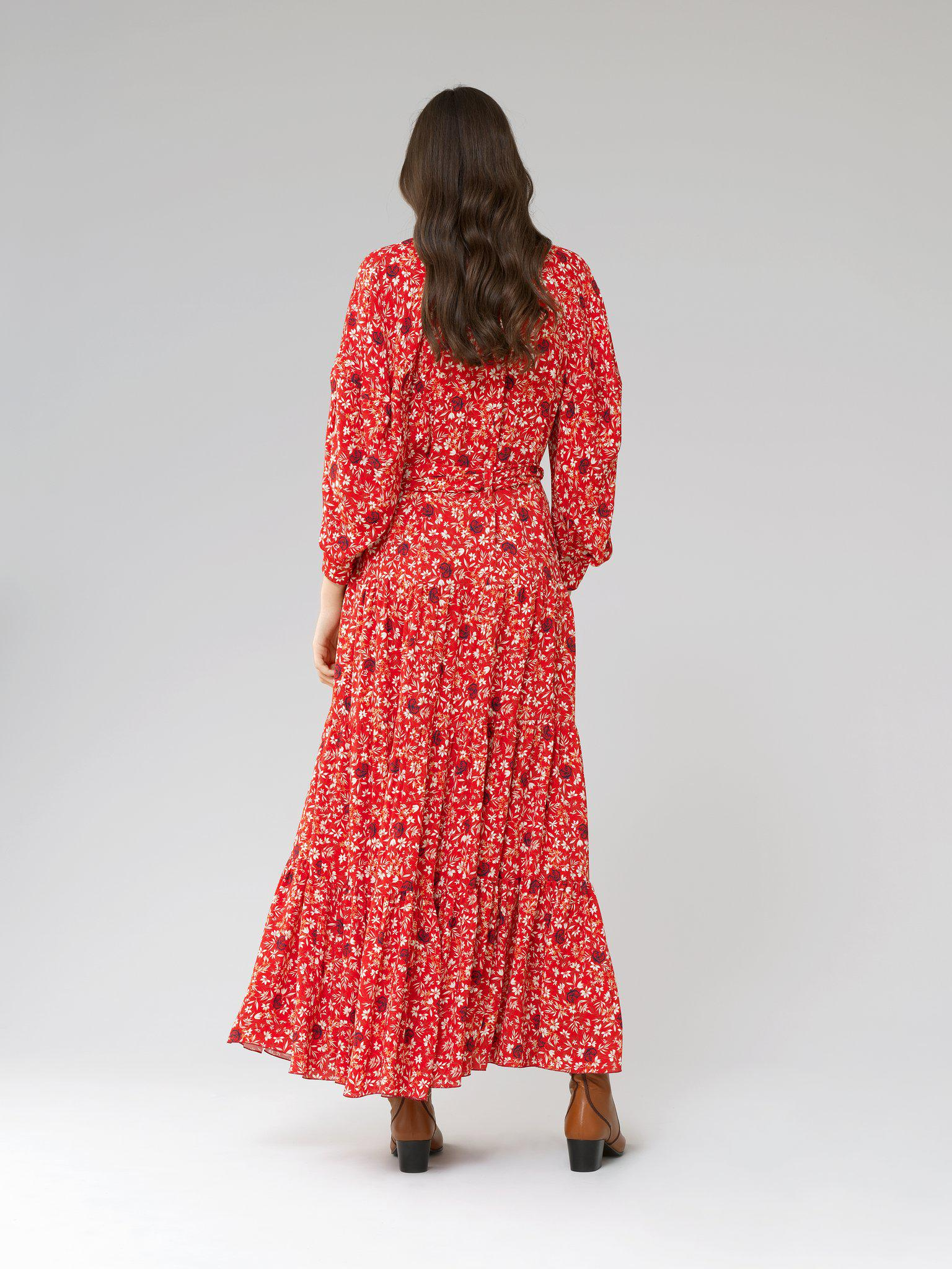 LONG DRESS WITH PRINT 1