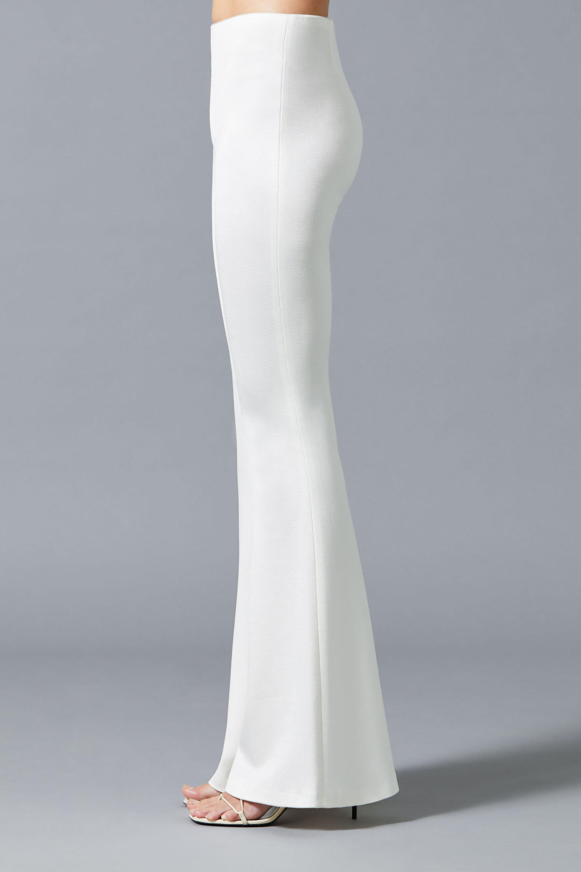 Jersey Flared Bridal Trousers 4