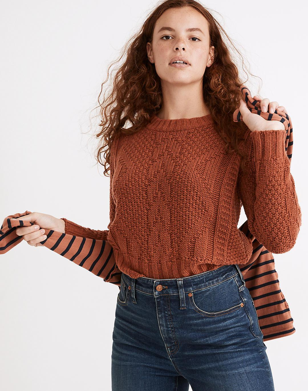 Ridgecrest Cable Pullover Sweater