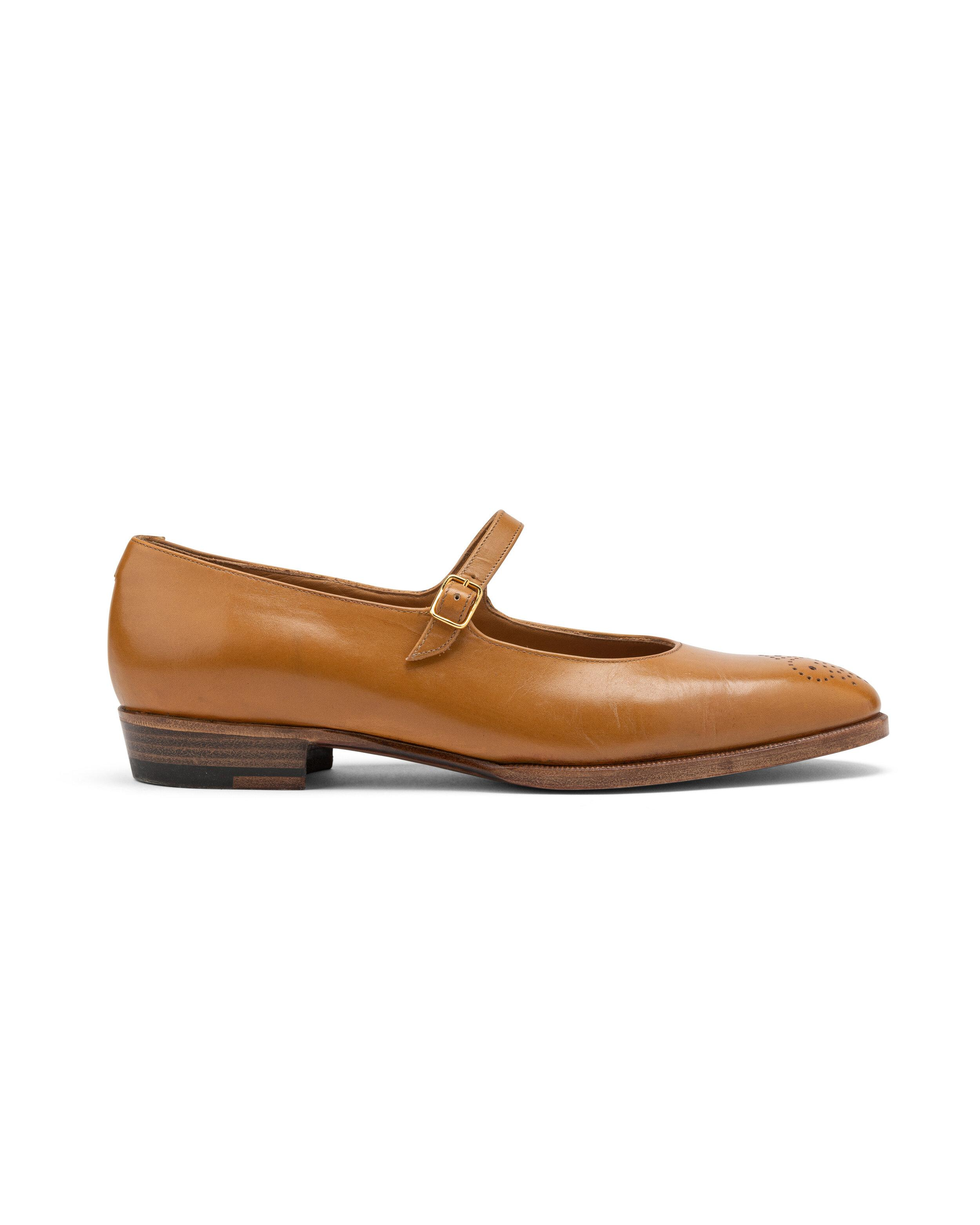 ODPEssentials Classic Mary Jane - Honey Leather 2