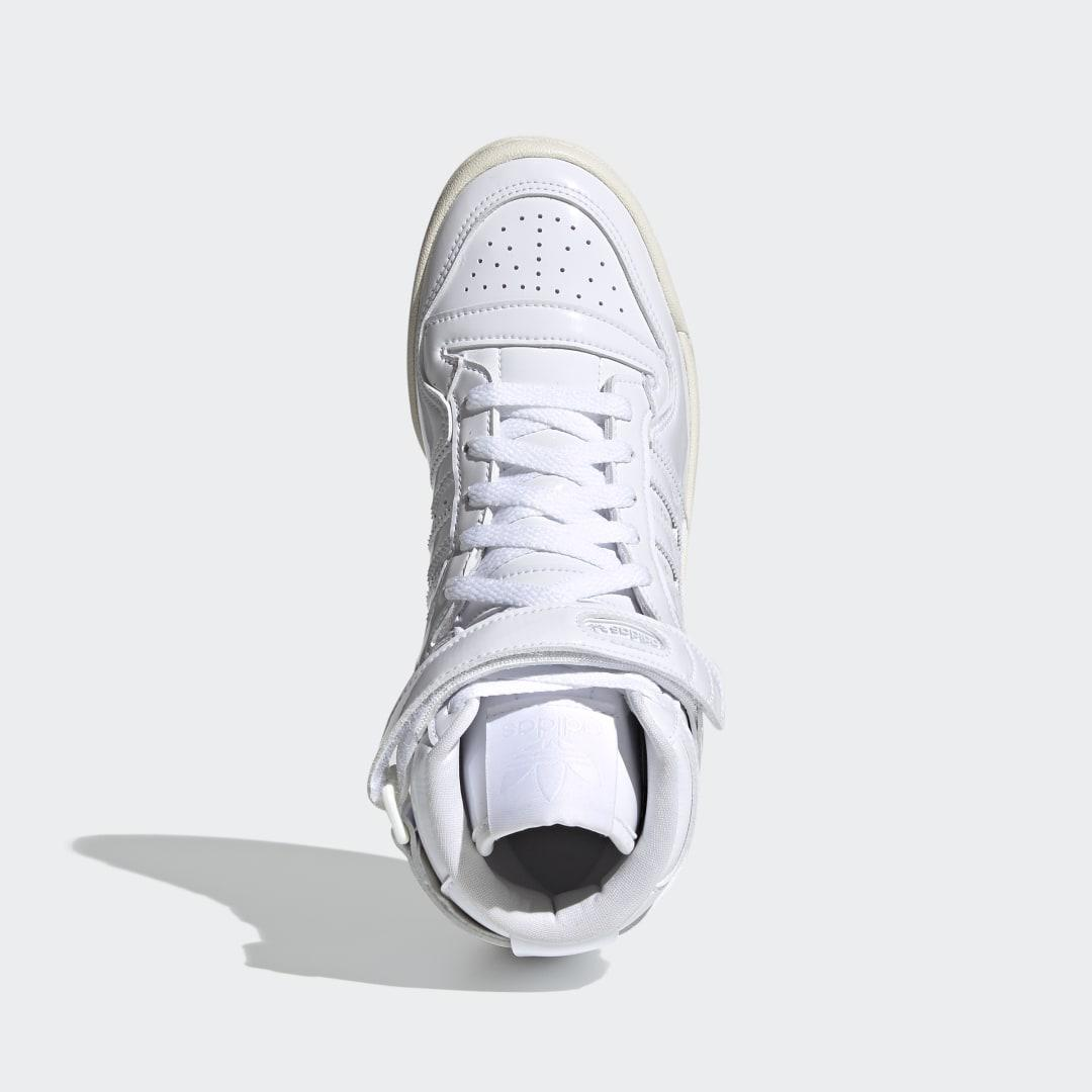 Forum 84 High Shoes White 8