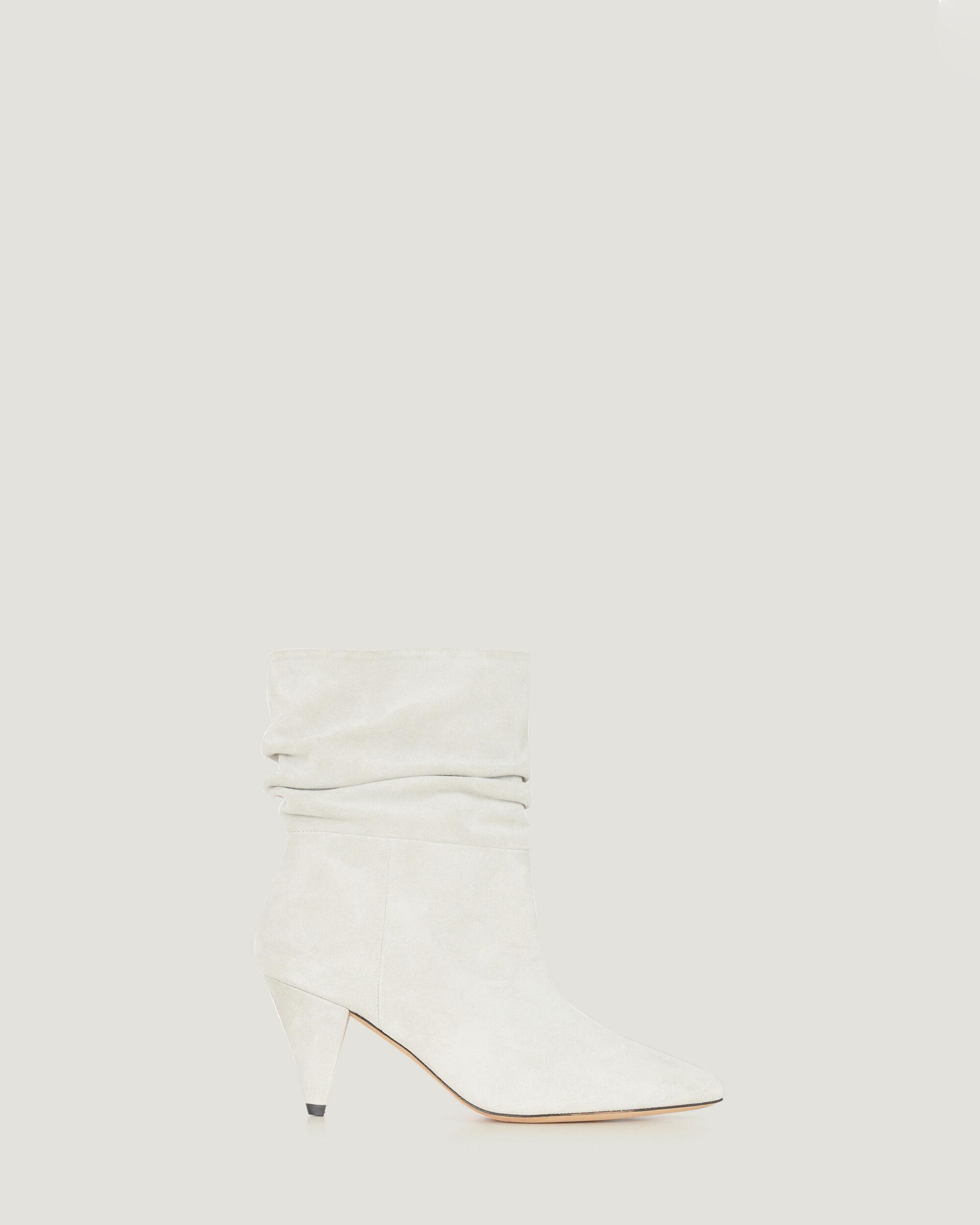 THEKE SUEDE SLOUCH ANKLE BOOTS