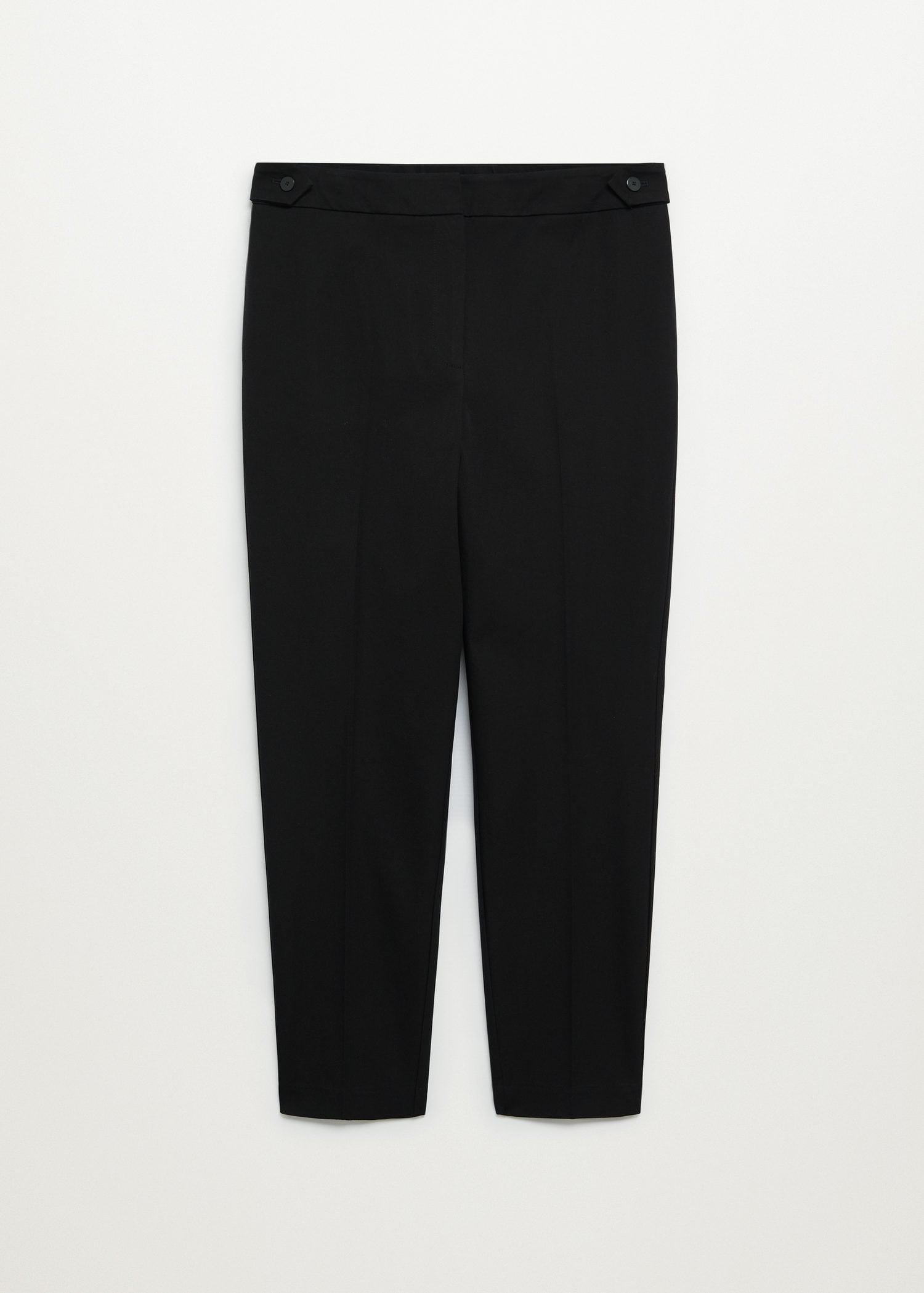 Side buttons pants 6