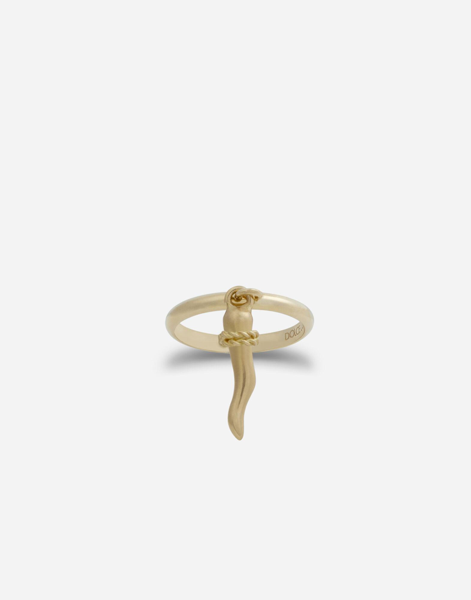 Family ring in yellow gold