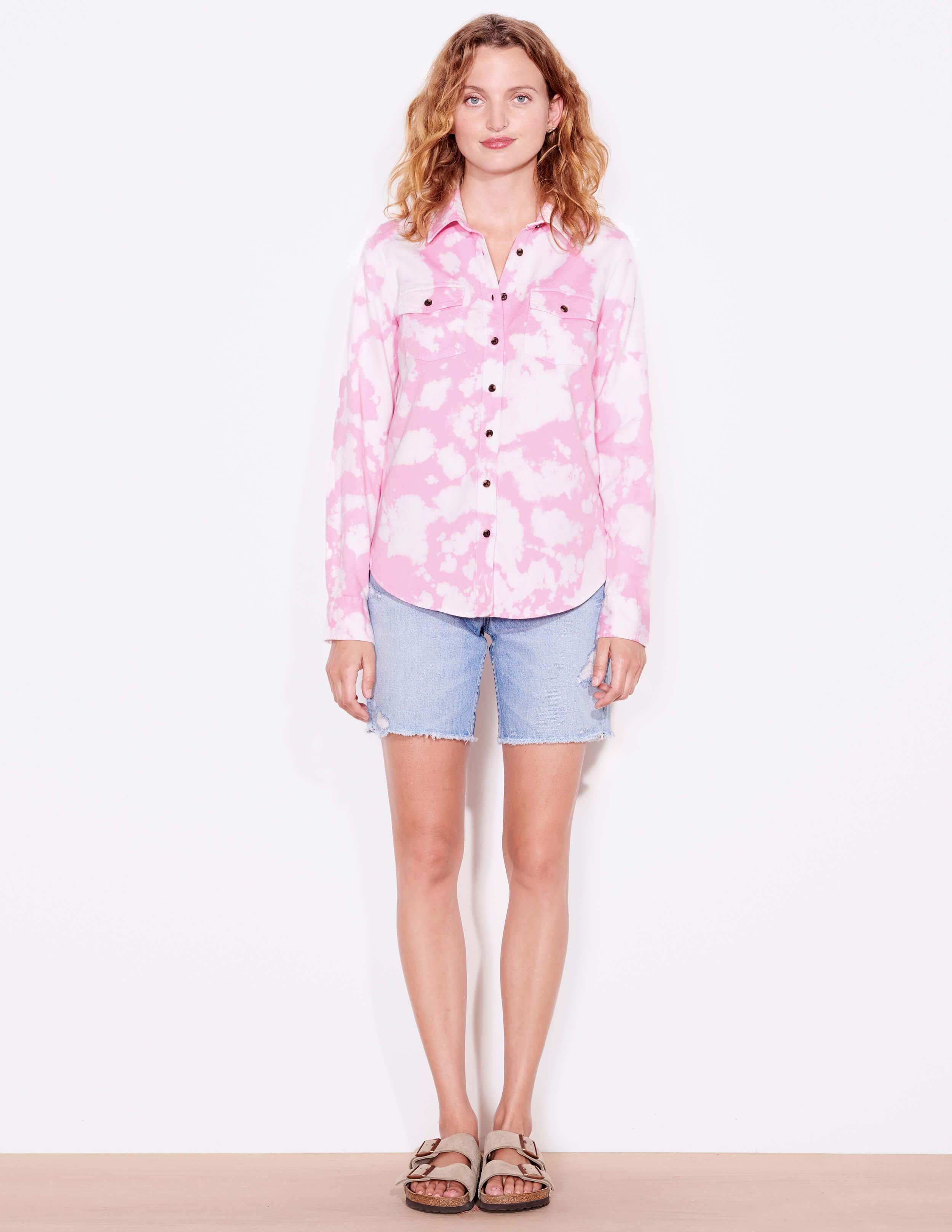 Tie Dye Classic Button-Up 1