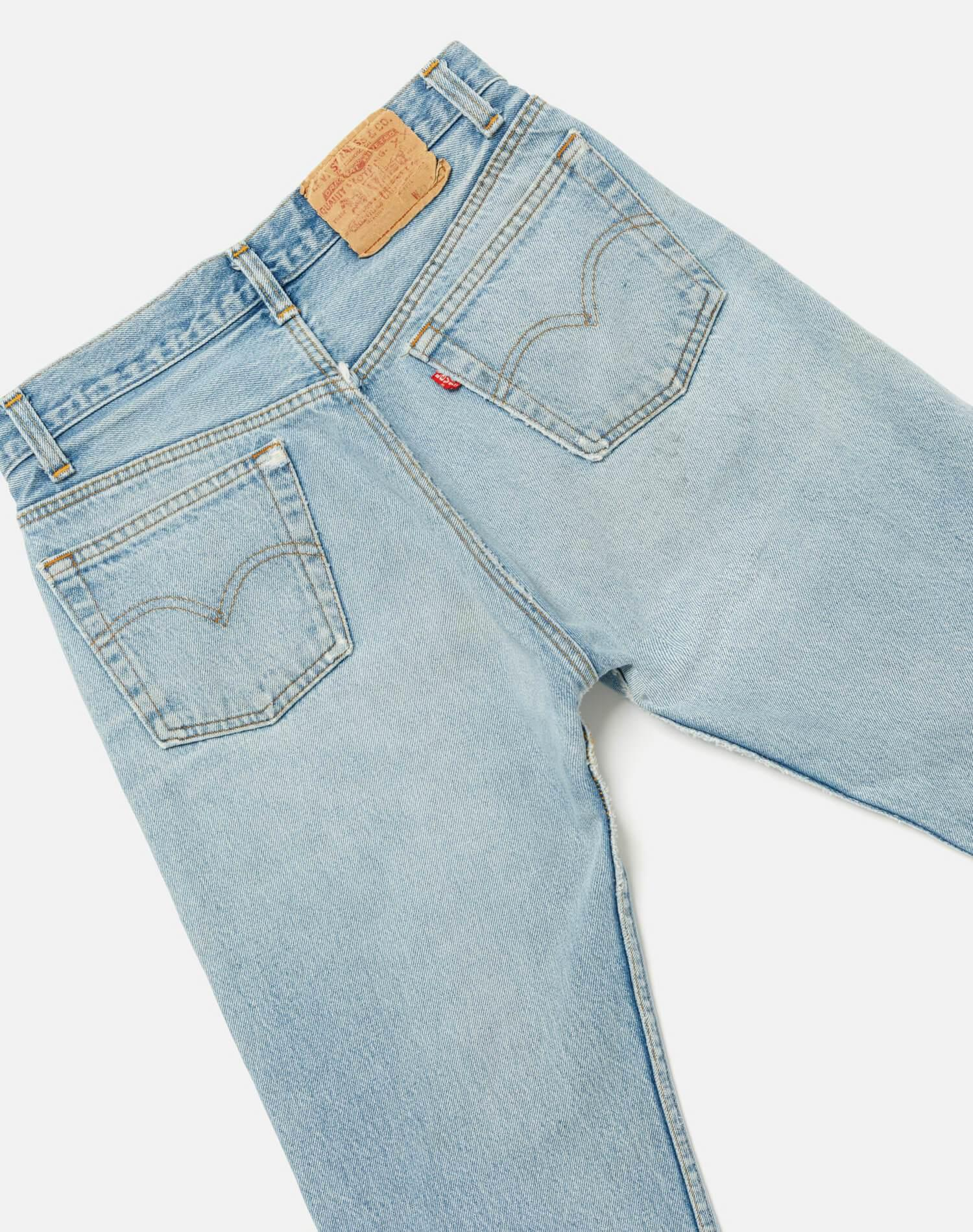70s/80s Vintage Levi's 501 High Rise Relaxed Straight Leg Size 28 - #251 3