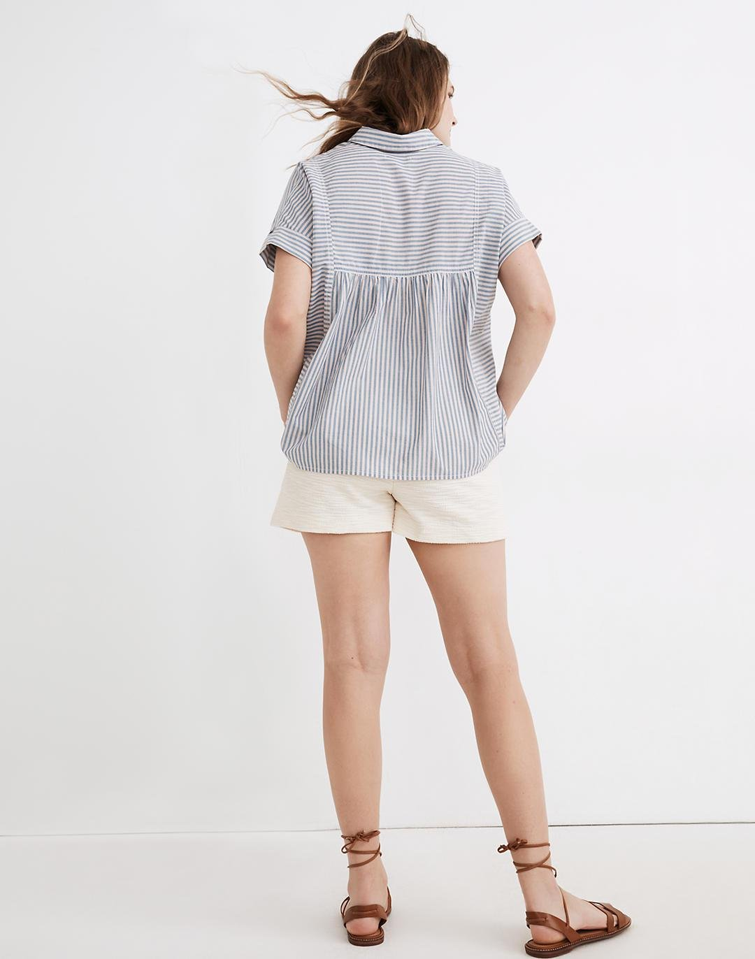 Lakeline Button-Up Shirt in Stripe-Play 2