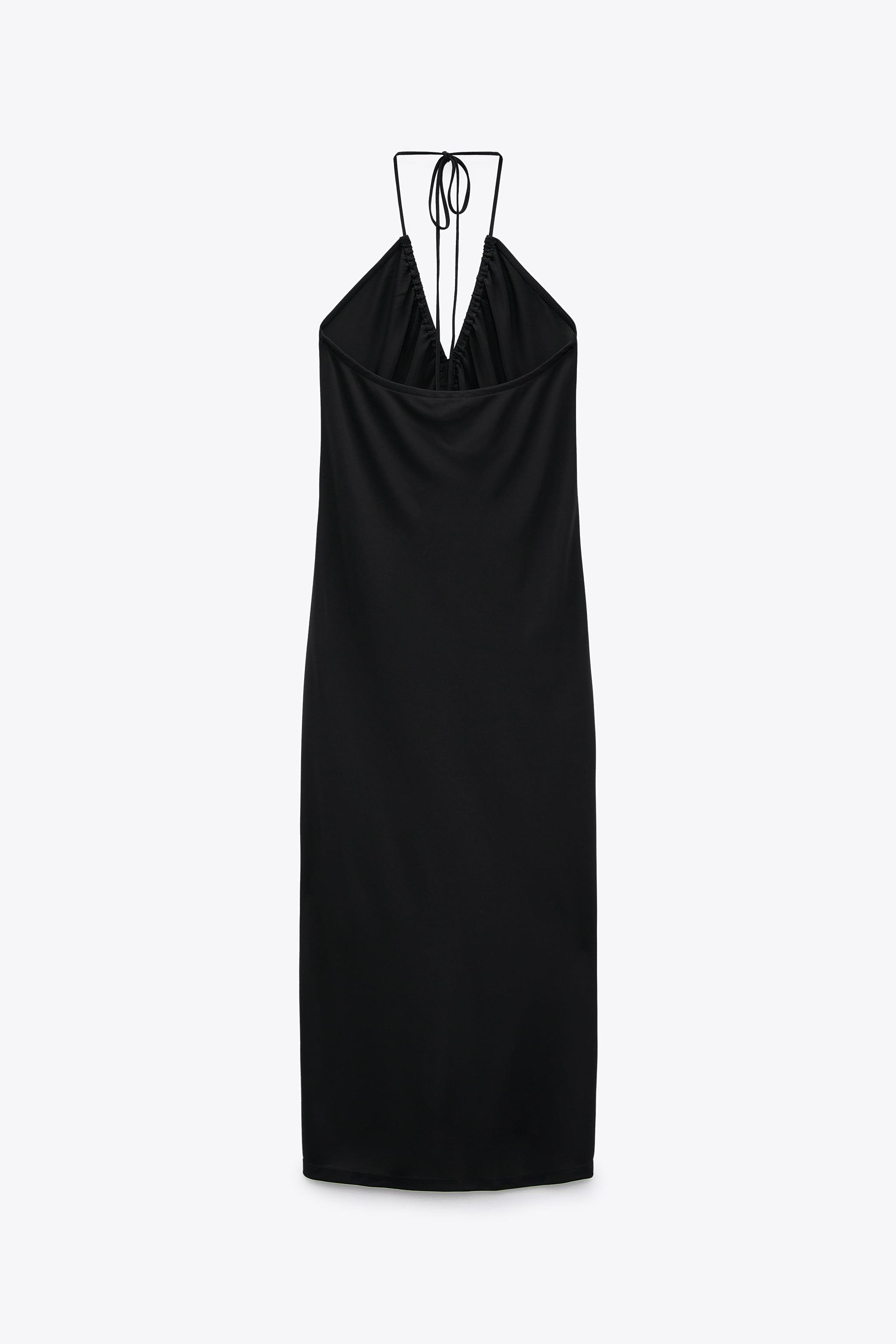 LONG RUCHED DRESS 6