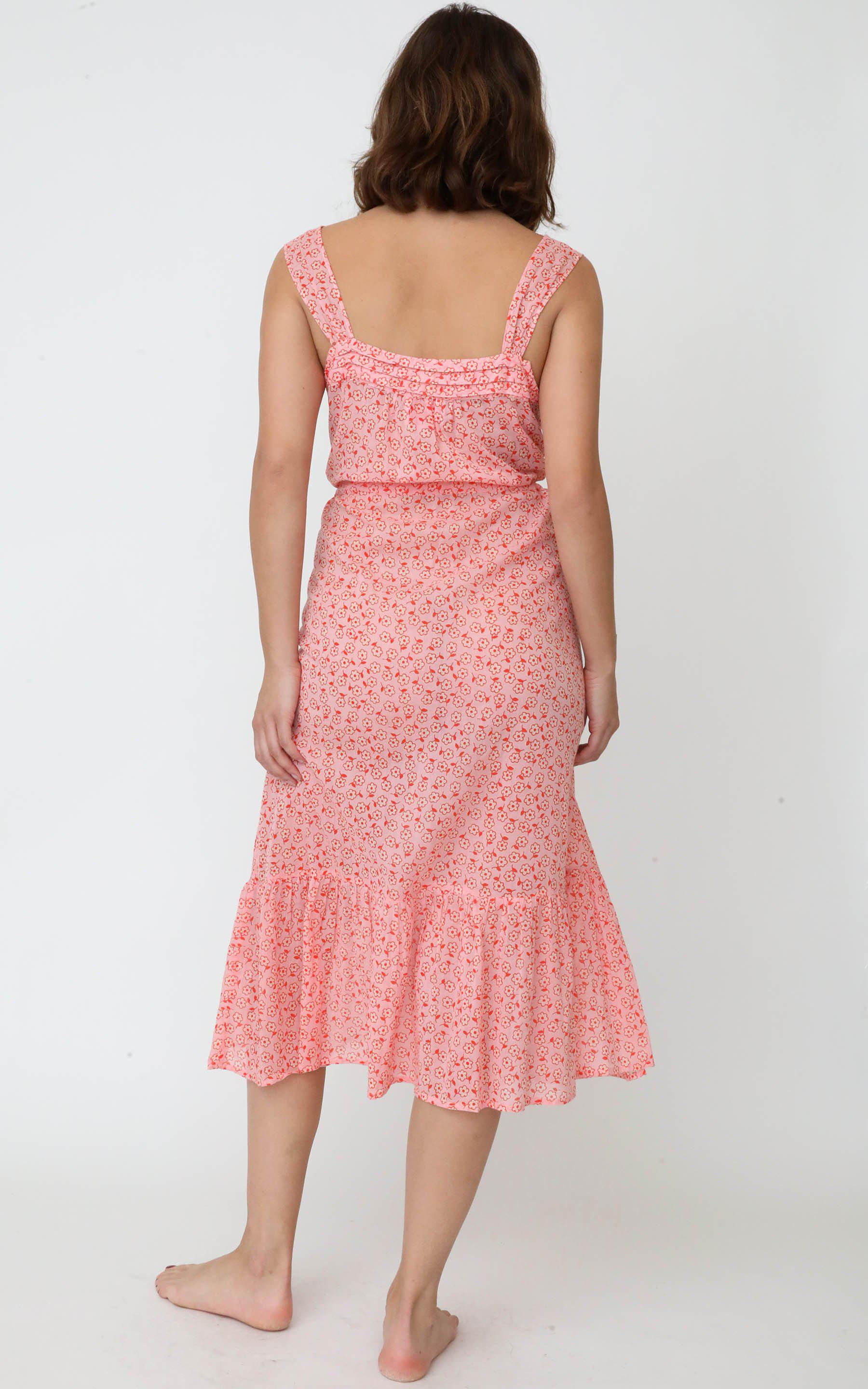 Rosalind Gown Scattered Daisy Orchid Pink 1