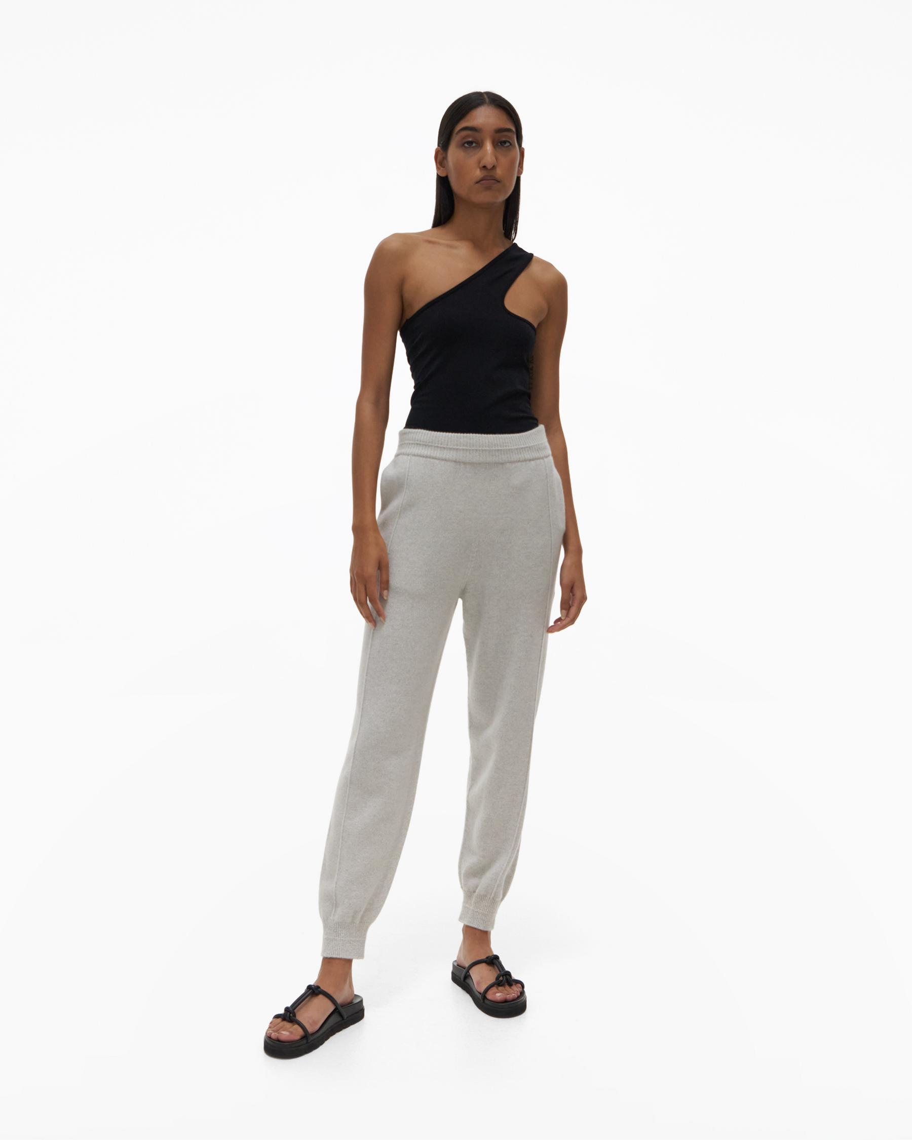 RECYCLED CASHMERE PANT