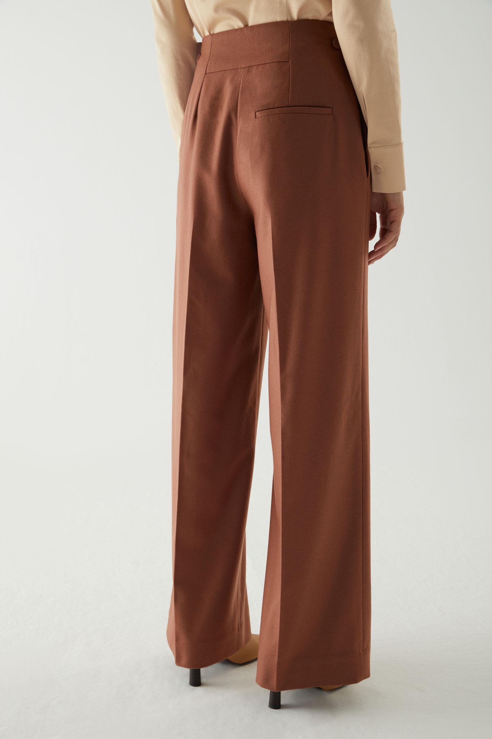 WOOL-CASHMERE TAILORED PANTS 3