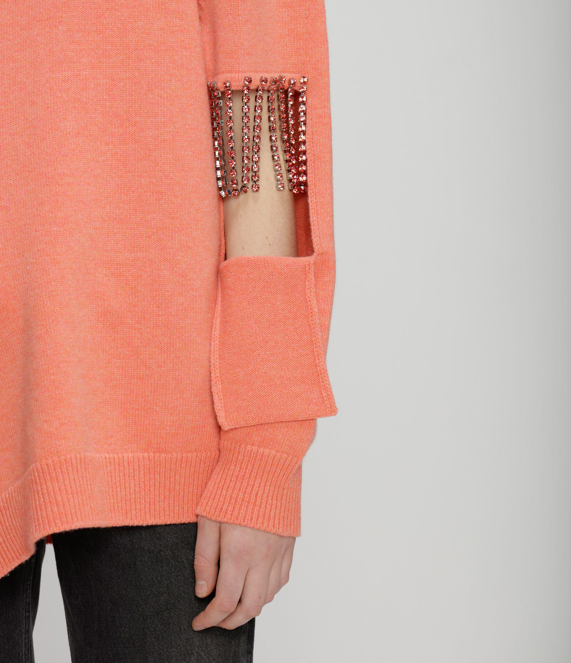 cut-out cupchain knitted sweater 5