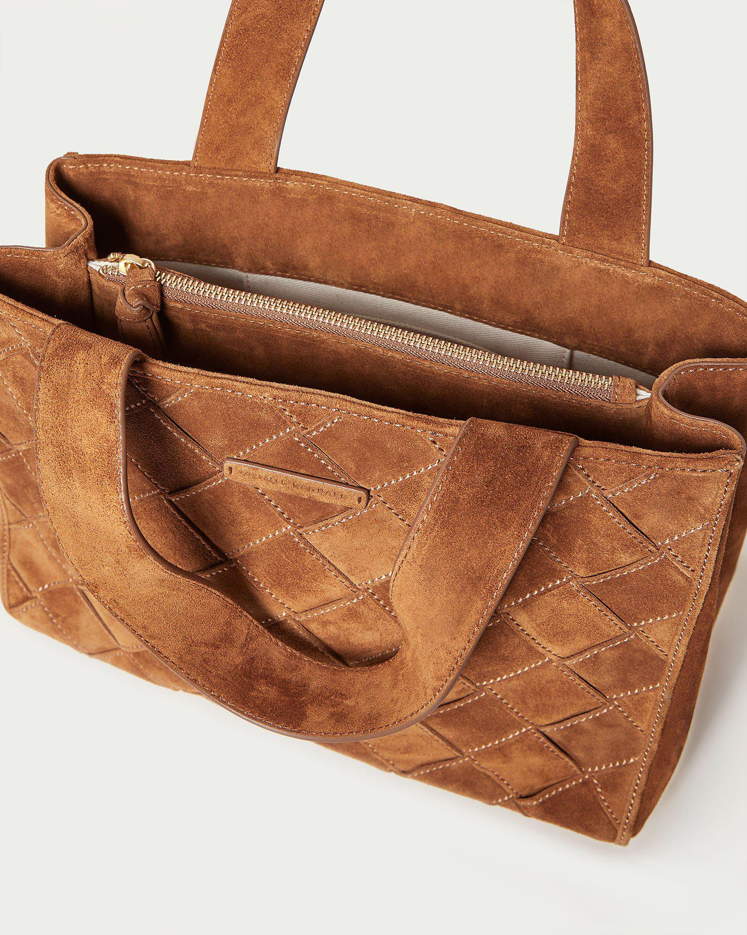 Brandy Cacao Work Tote 3