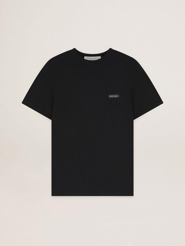 Black T-shirt Game EDT Capsule Collection with contrasting logo 3