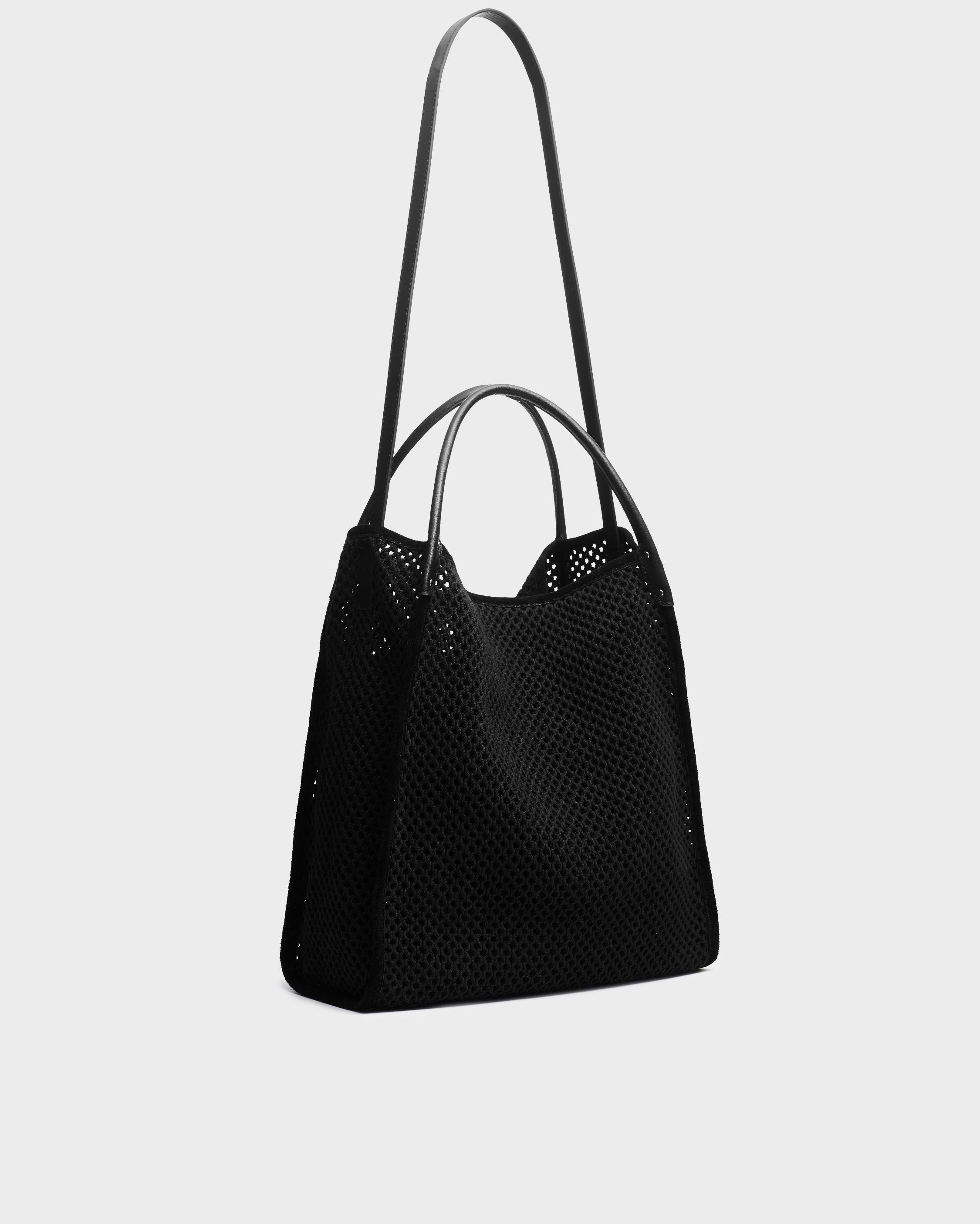 Summer passenger tote - leather and recycled materials 1