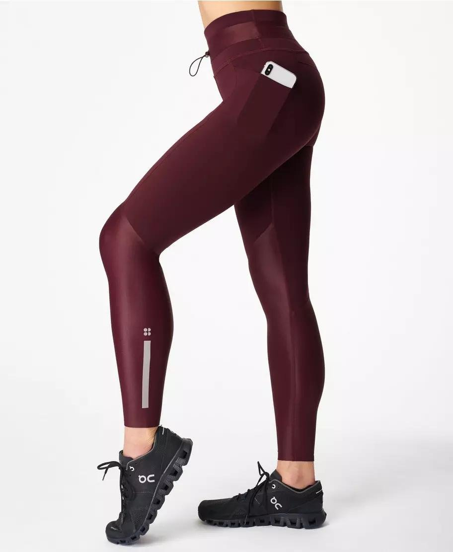 Power Mission High-Waisted Workout Leggings