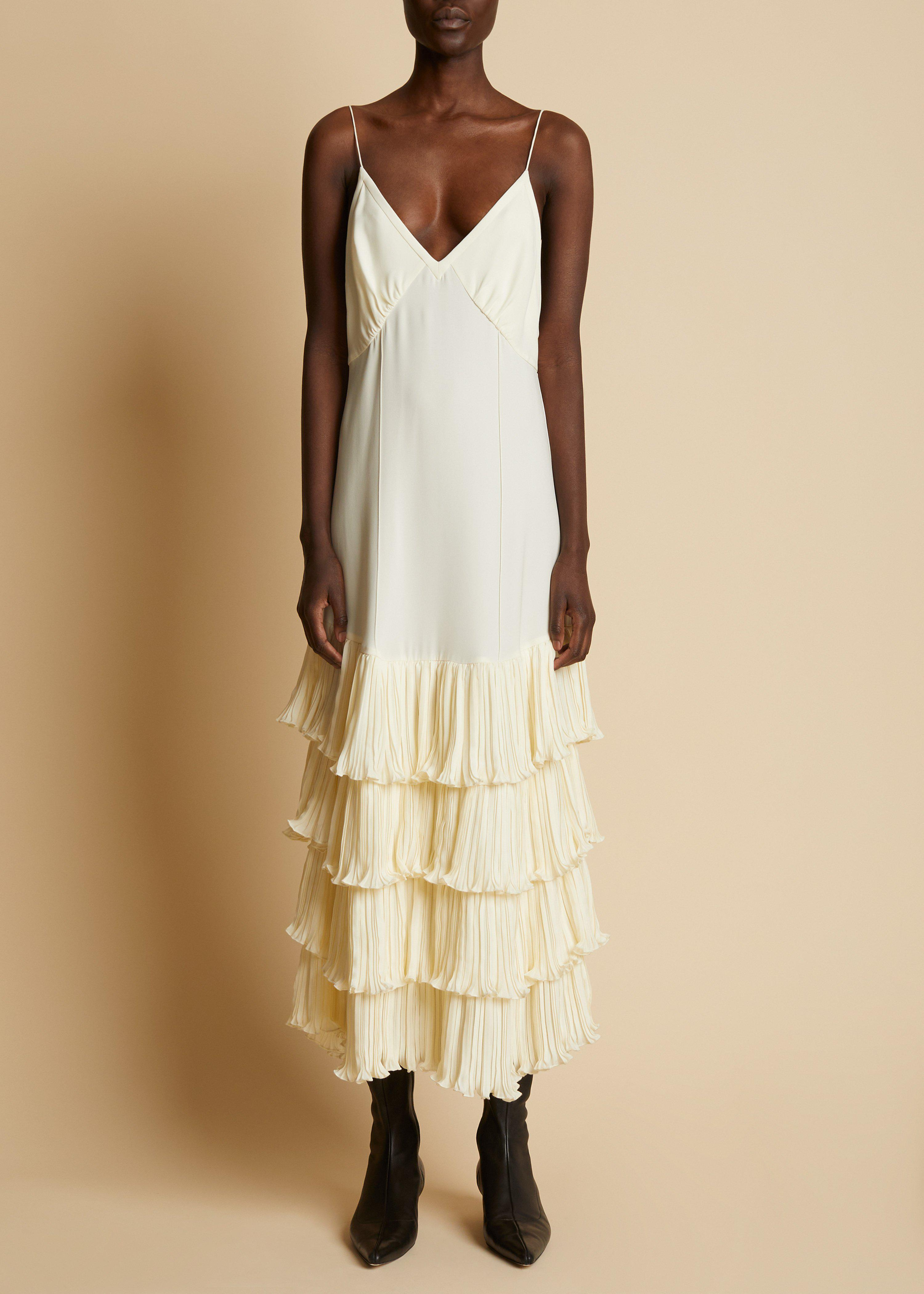 The Myrtle Dress in Ivory 1