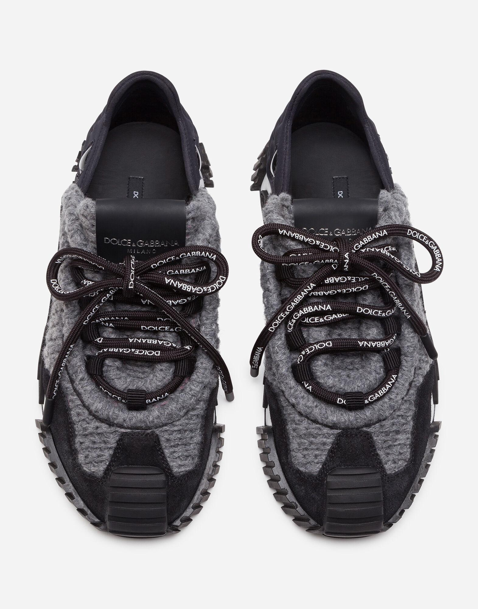 Mixed-material NS1 sneakers 3