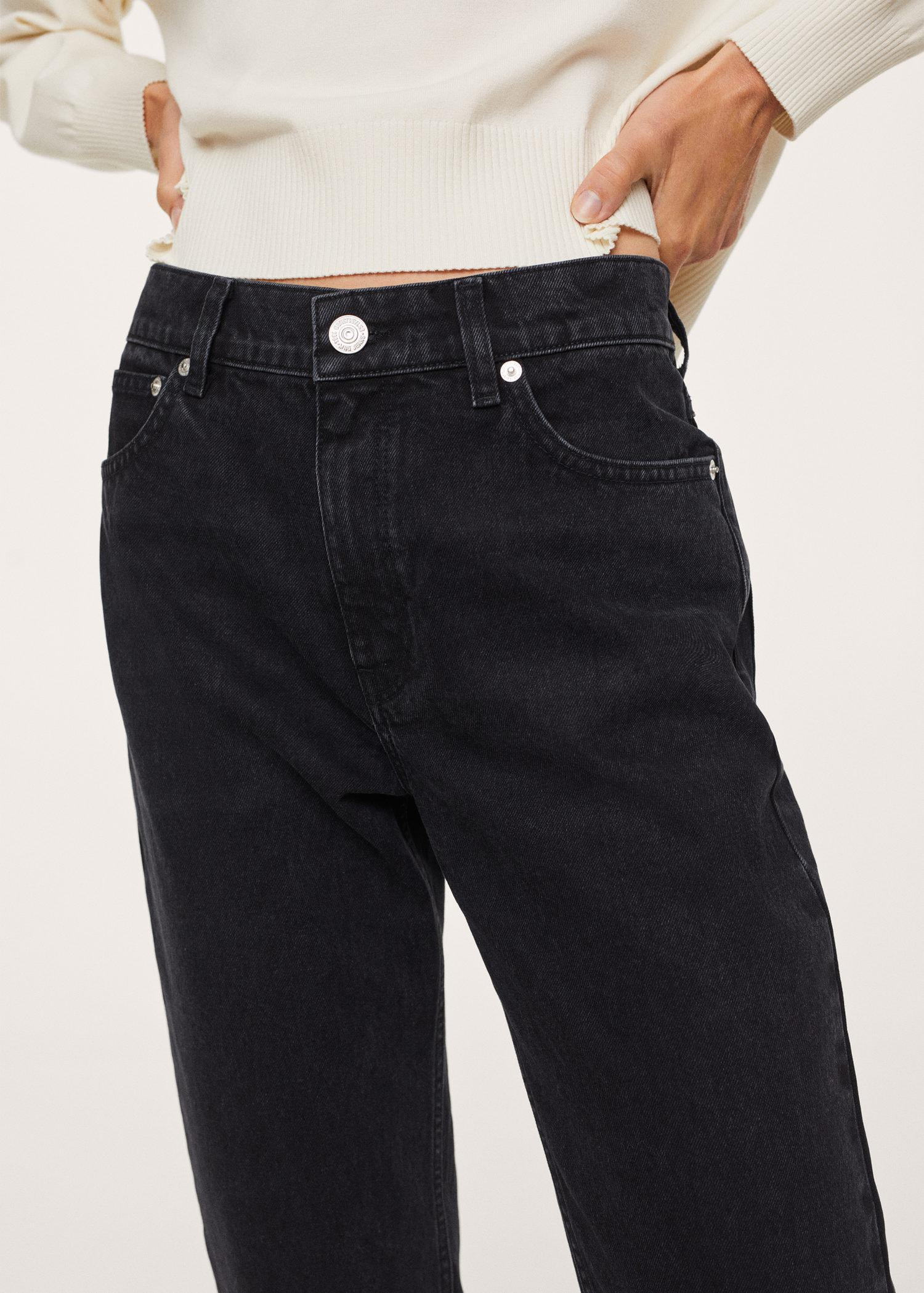 100% cotton mom-fit jeans 6