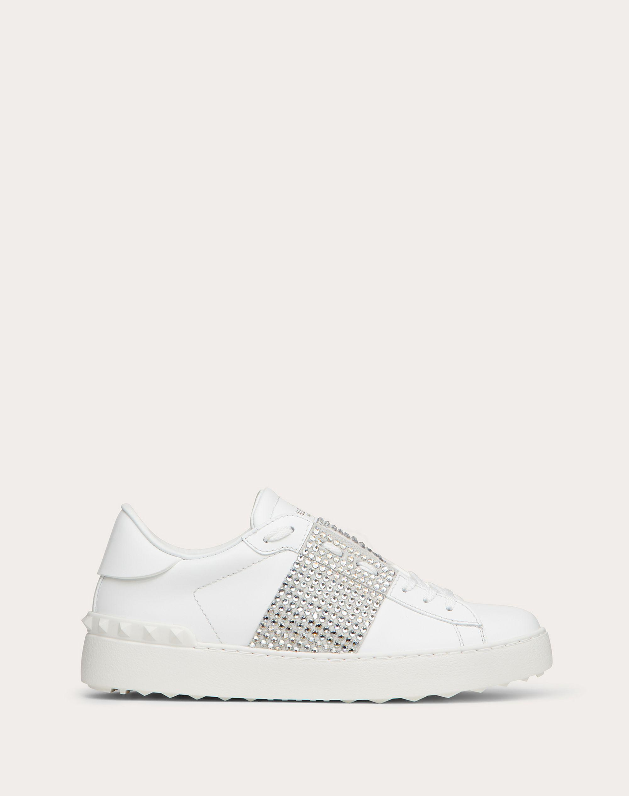 OPEN SNEAKER WITH CRYSTALS