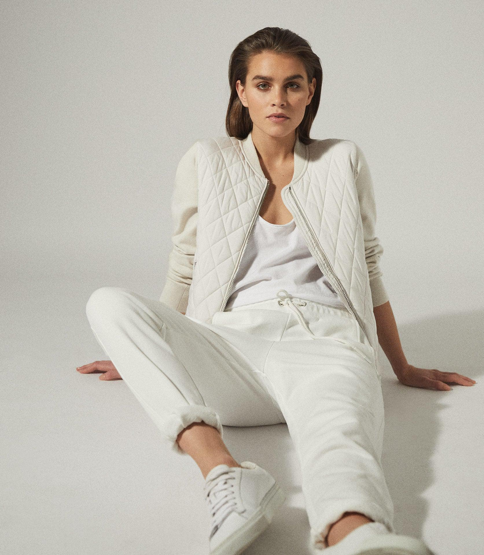AYLA - HYBRID ZIP THROUGH QUILTED JUMPER 3