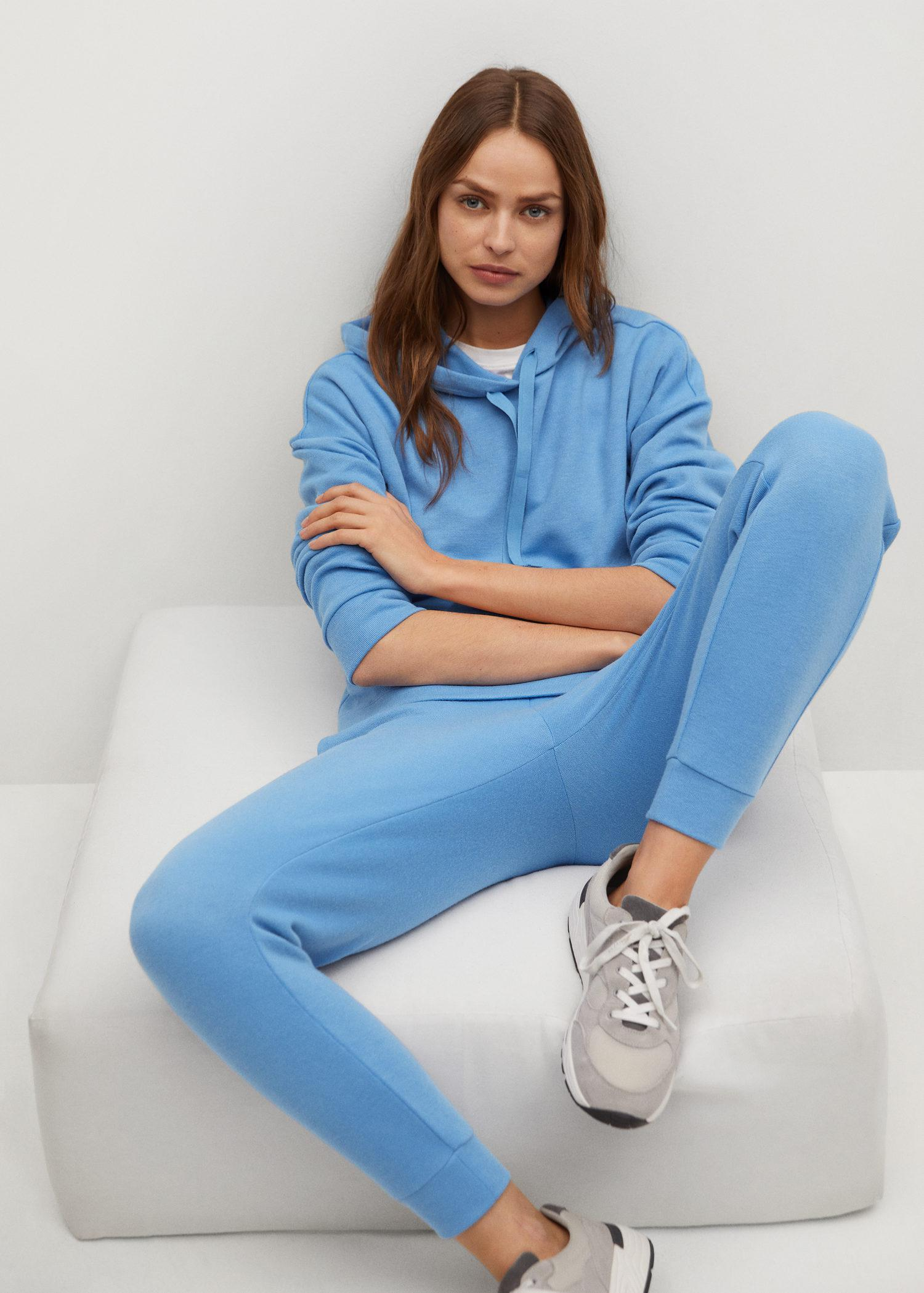 Knit jogger-style trousers 6
