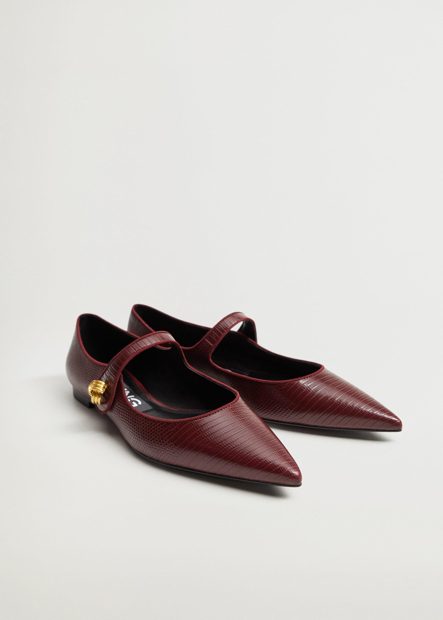 Ballerina shoes with tip 1