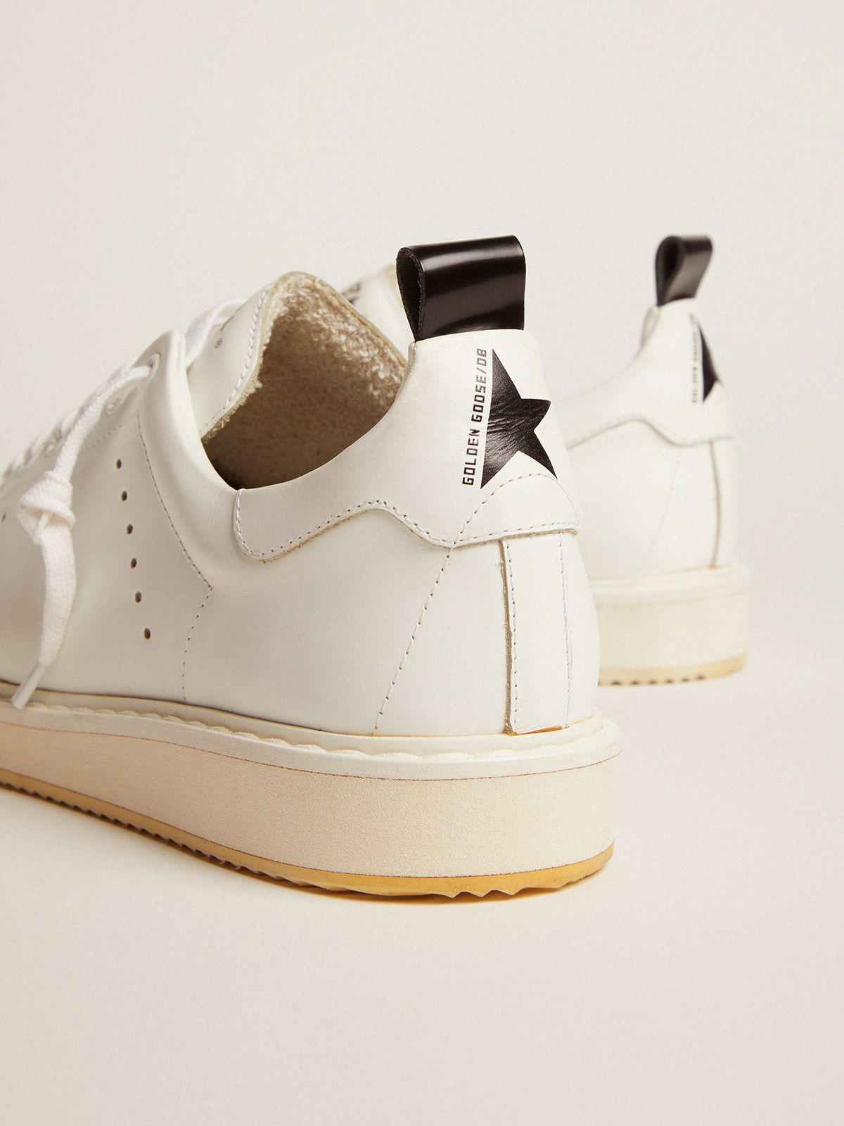 Starter sneakers in total white leather 3