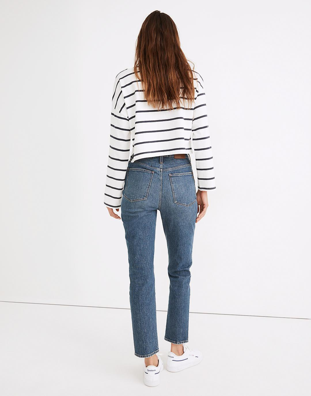 Tall Classic Straight Jeans in Corson Wash