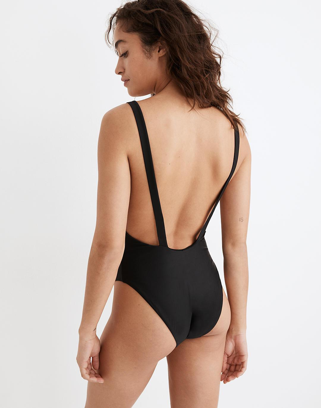 Madewell Second Wave Maillot One-Piece Swimsuit 2